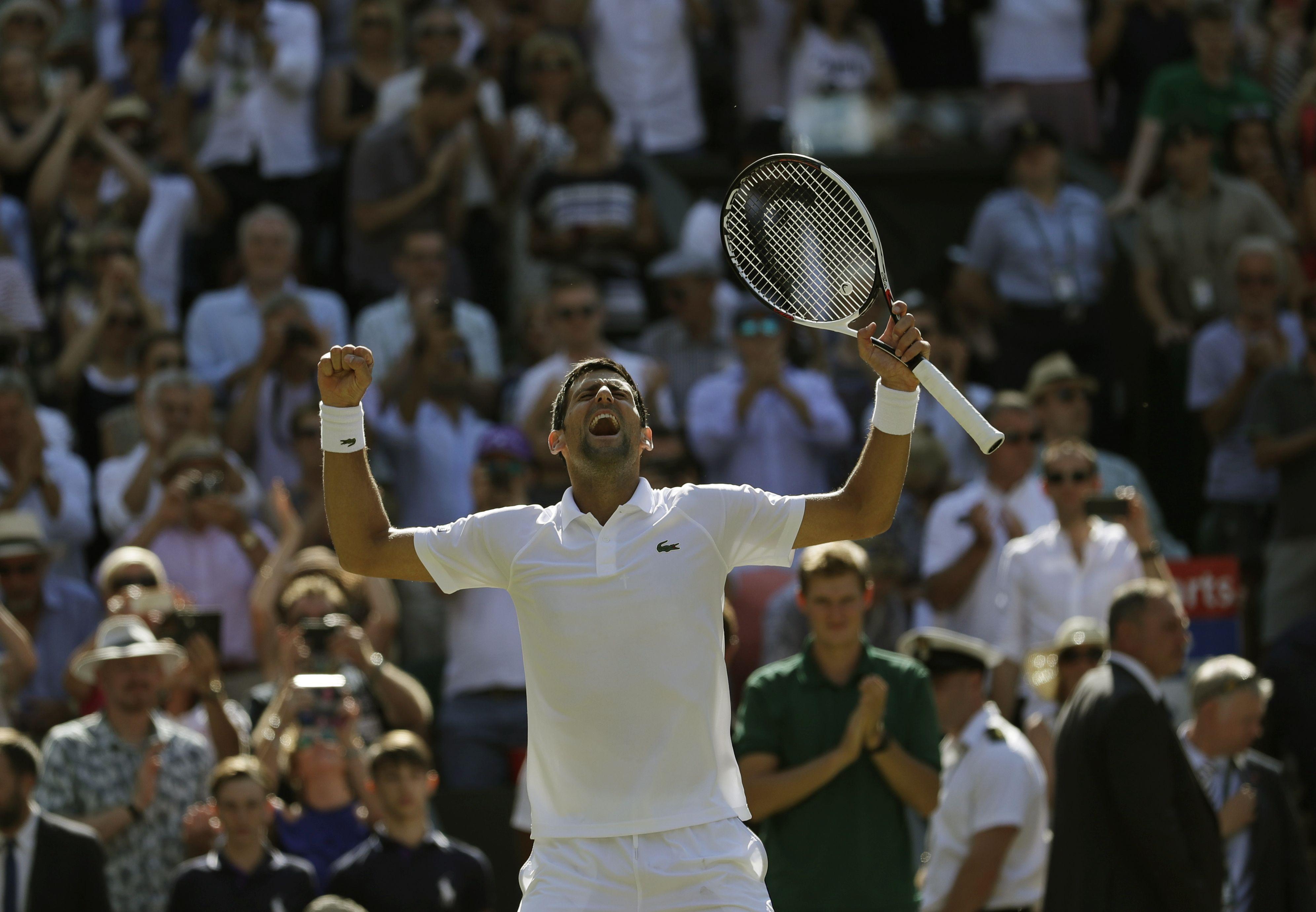 Tennis - Wimbledon - À Wimbledon, Djokovic est redevenu Djokovic