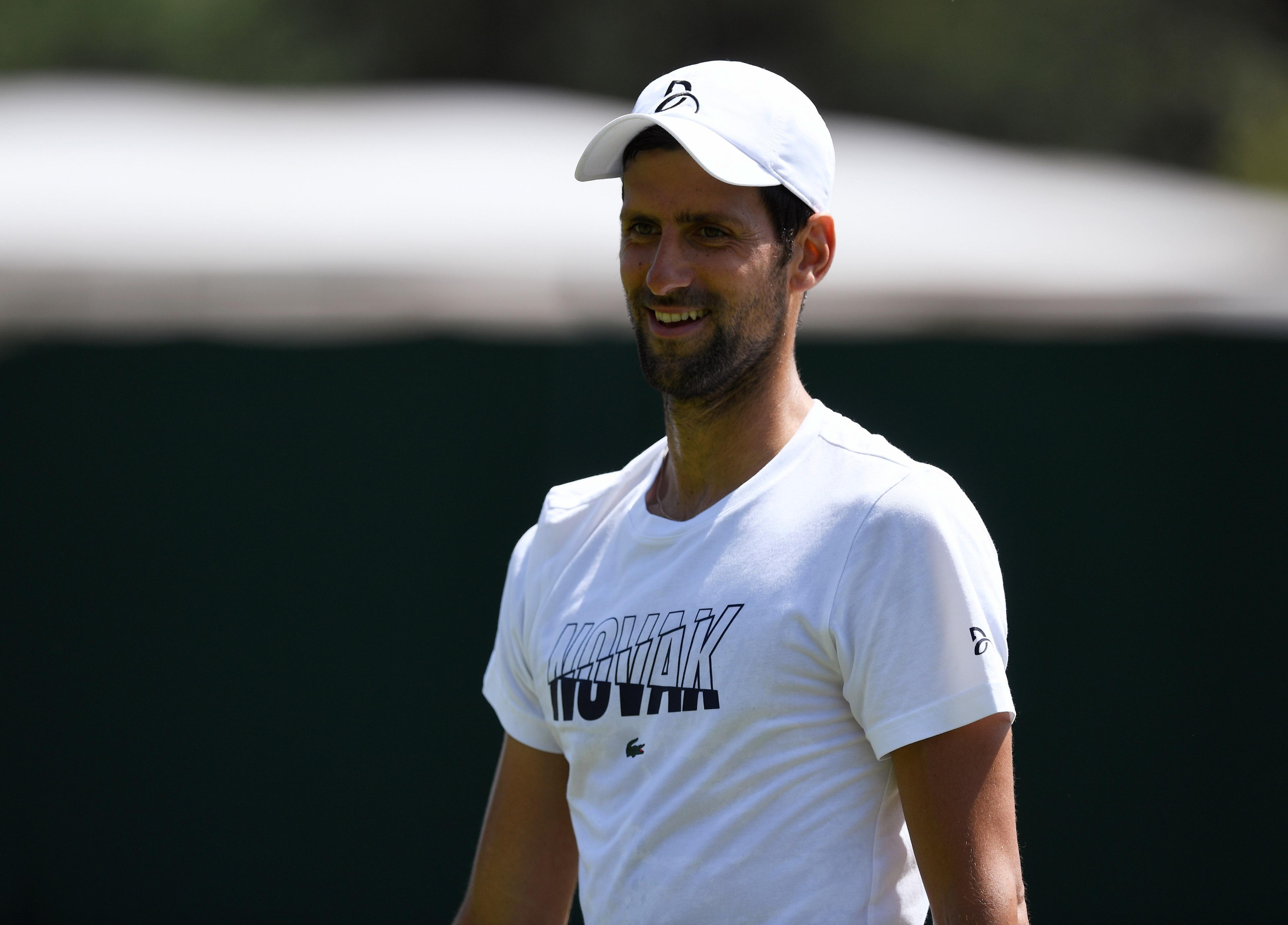 Tennis - Wimbledon - Après sa déception à Roland-Garros, Djokovic est en opération reconquête à Wimbledon