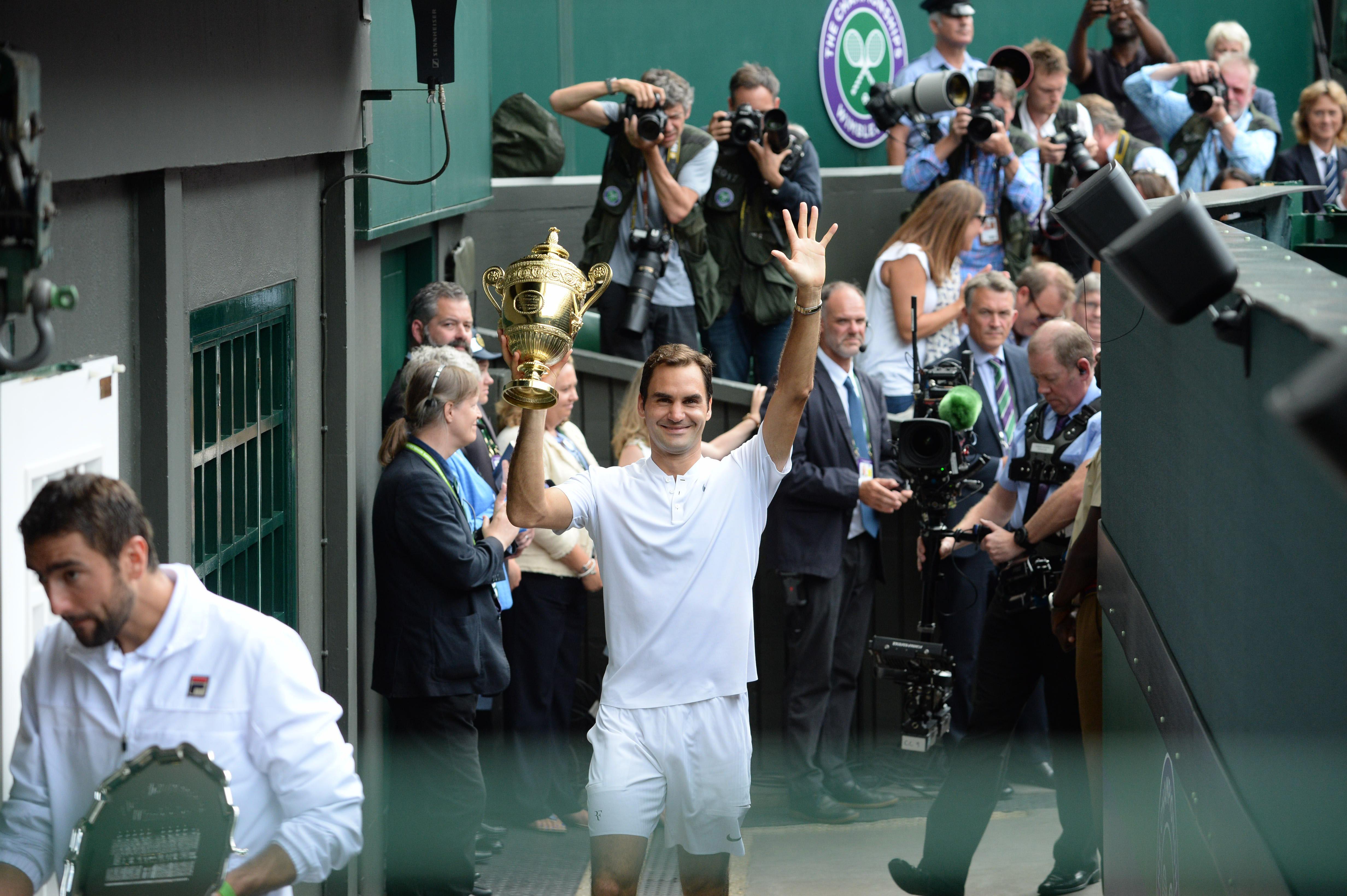 Federer, comment la légende vivante est redevenue intouchable - Wimbledon - Tennis
