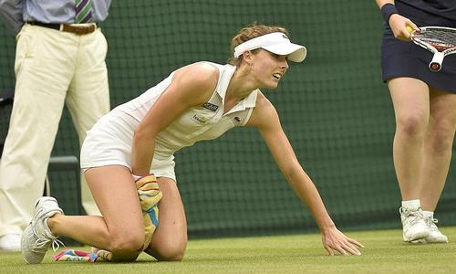 Cornet n'a pas pu enchaîner - Wimbledon - Tennis -