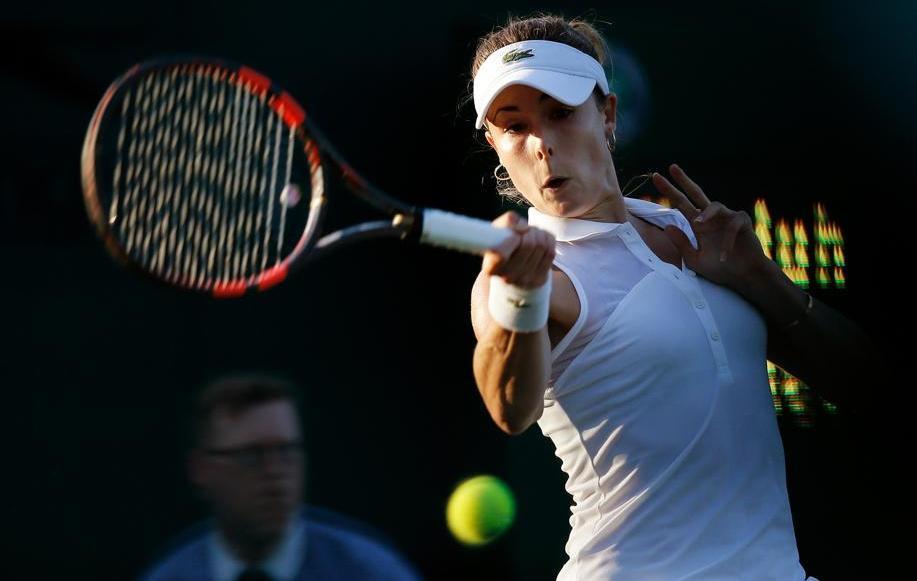 Tennis - Wimbledon - Cornet tr�s facile