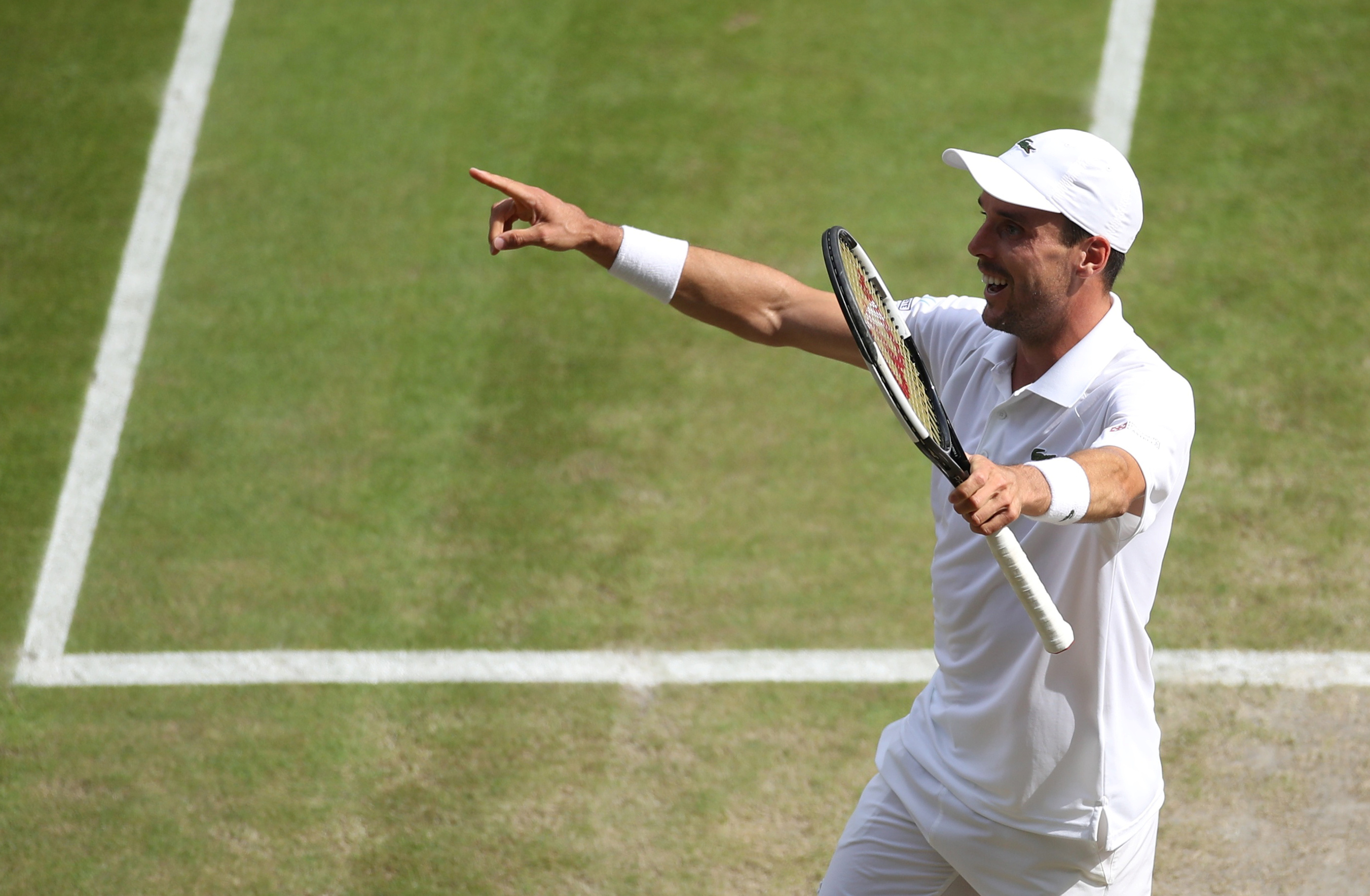 Tennis - Wimbledon - Ibiza, Villarreal, surfaces rapides... 5 choses à savoir sur Bautista Agut, l'adversaire de Novak Djokovic