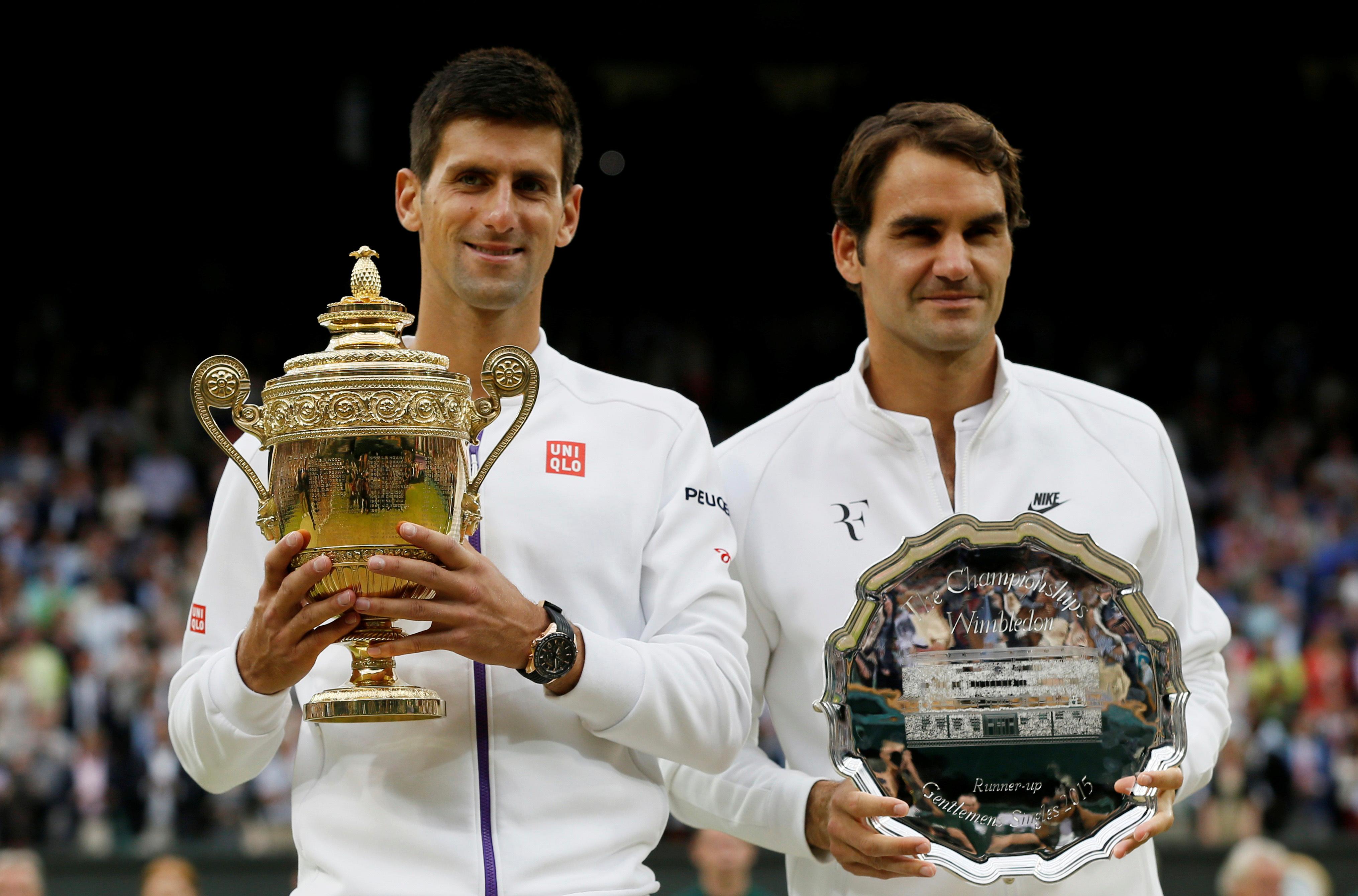 Tennis - Wimbledon - Les chiffres de la rivalité entre Djokovic et Federer