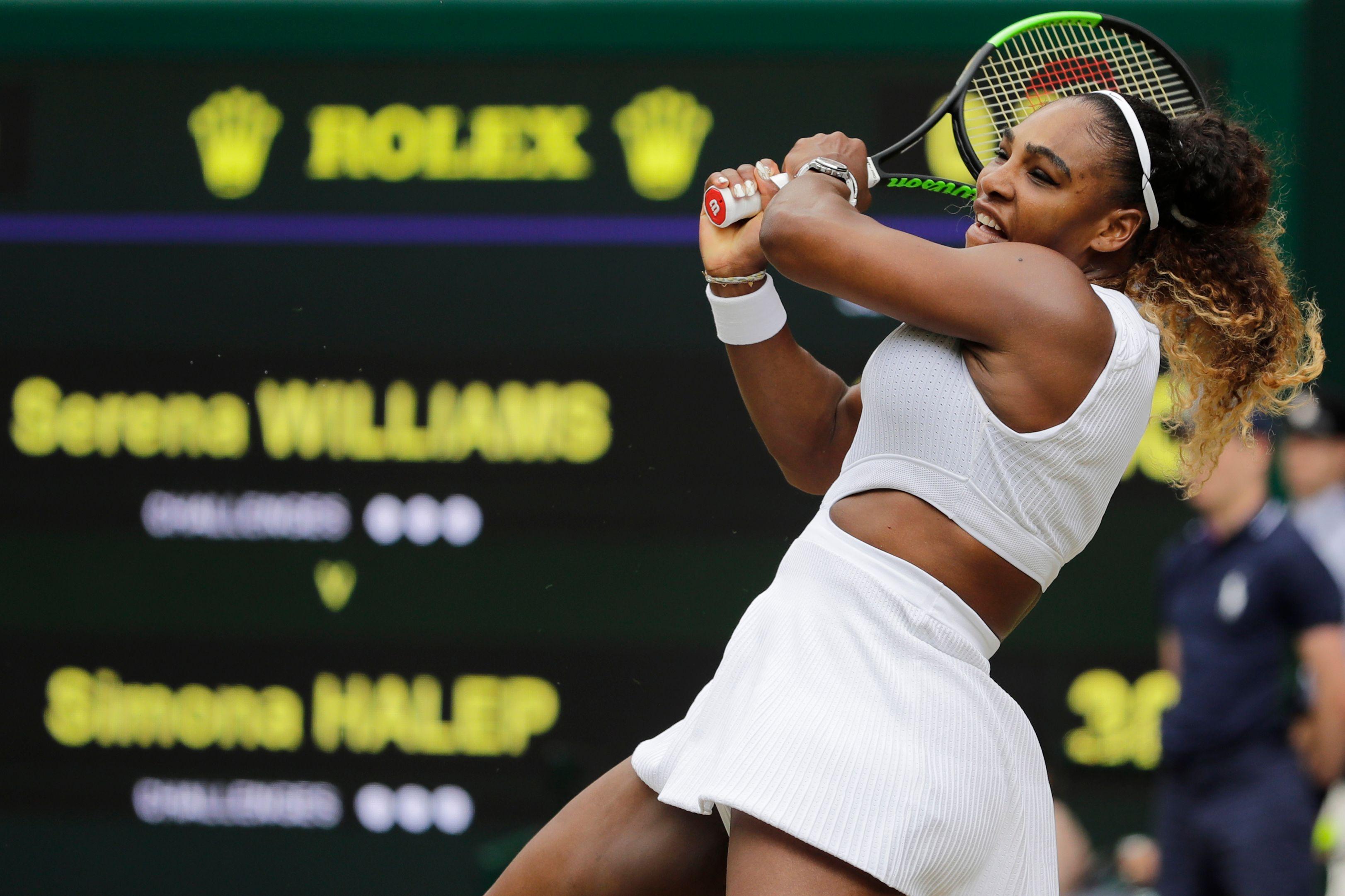 Tennis - Wimbledon - Malgré sa défaite sèche en finale, Serena Williams se sent «encore incroyablement compétitive»