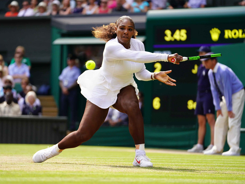 Tennis - Wimbledon - Wimbledon : Serena Williams a encore rendez-vous avec l'histoire