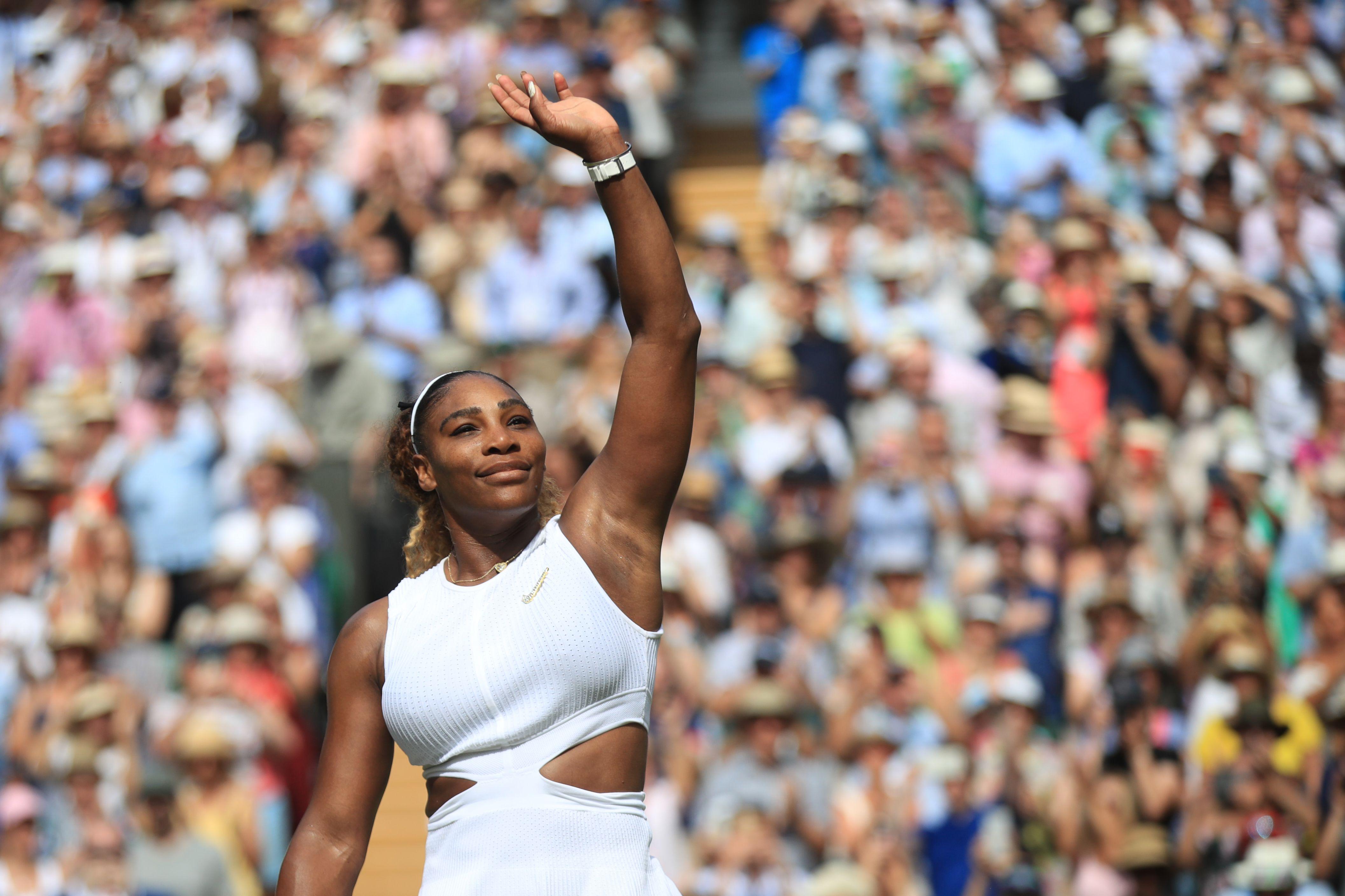 Tennis - Wimbledon - Serena Williams, finaliste à Wimbledon : «Je commence à peine à me servir de mes jambes à nouveau à 100%»