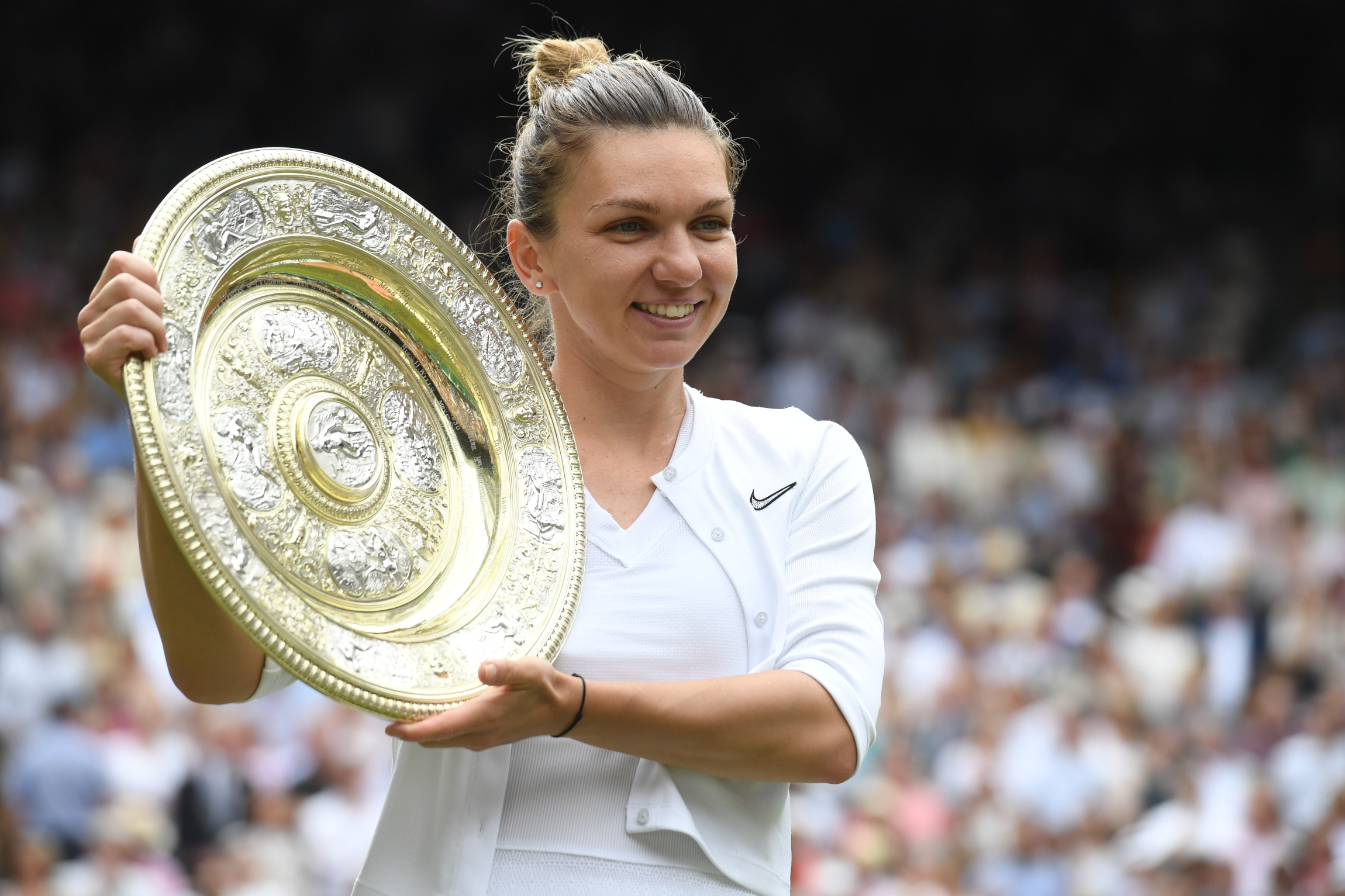 Tennis - Wimbledon - Simona Halep, lauréate de Wimbledon : «C'était le meilleur match de ma vie»