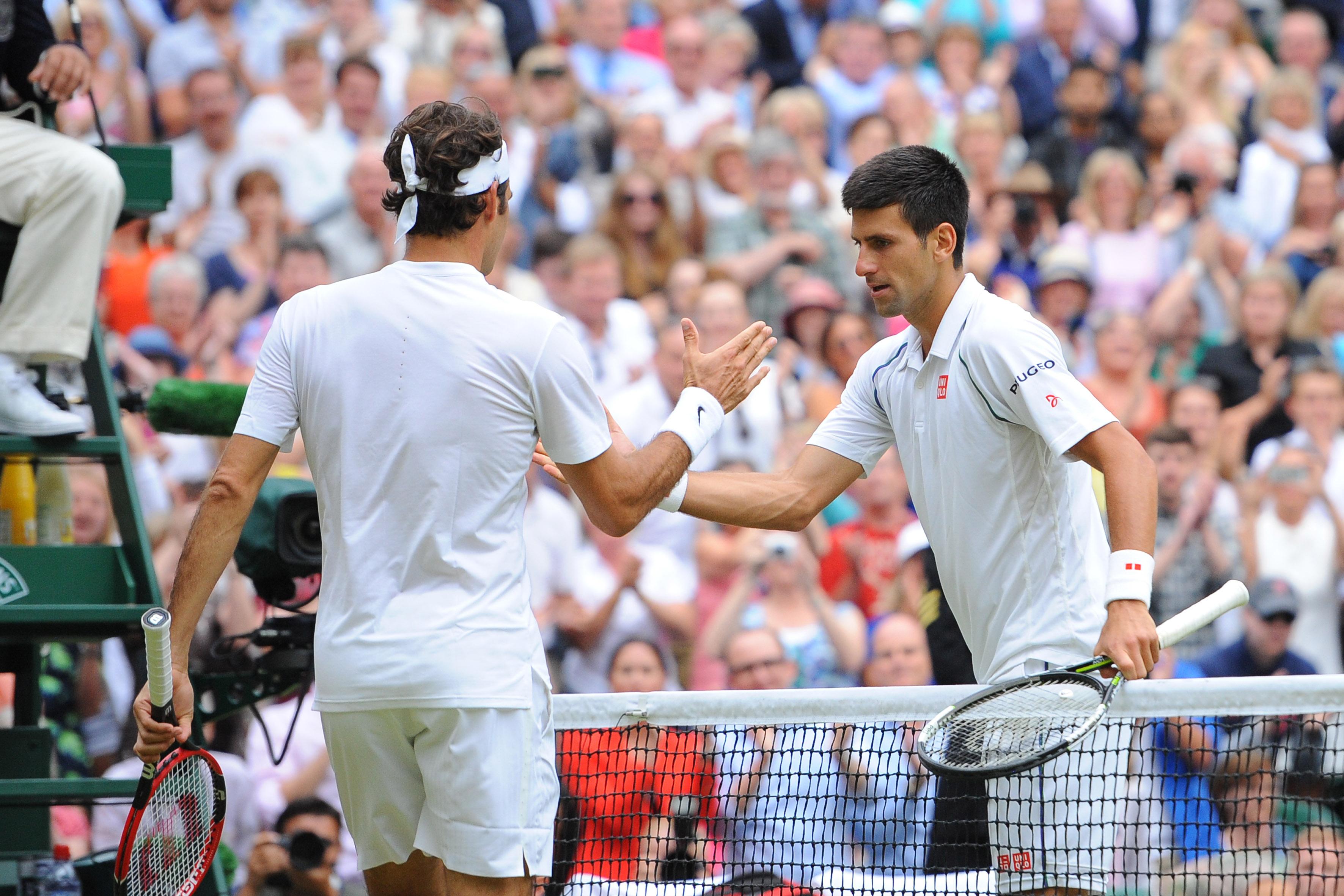 Tennis : Wimbledon - Vers une demi-finale Djokovic-Federer � Wimbledon ?