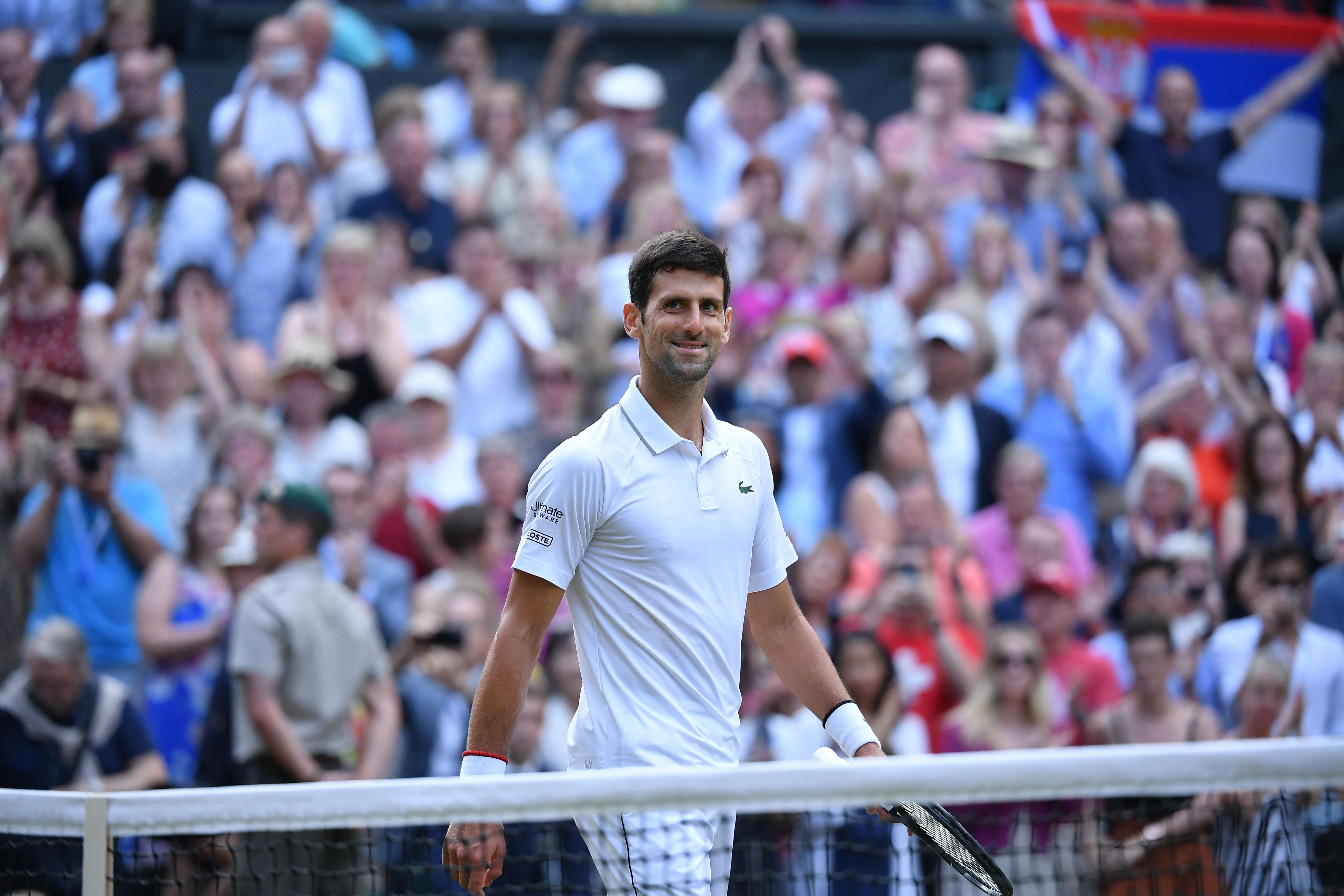 Tennis - Wimbledon - Wimbledon: Djokovic ne connaissait pas la règle du super tie-break