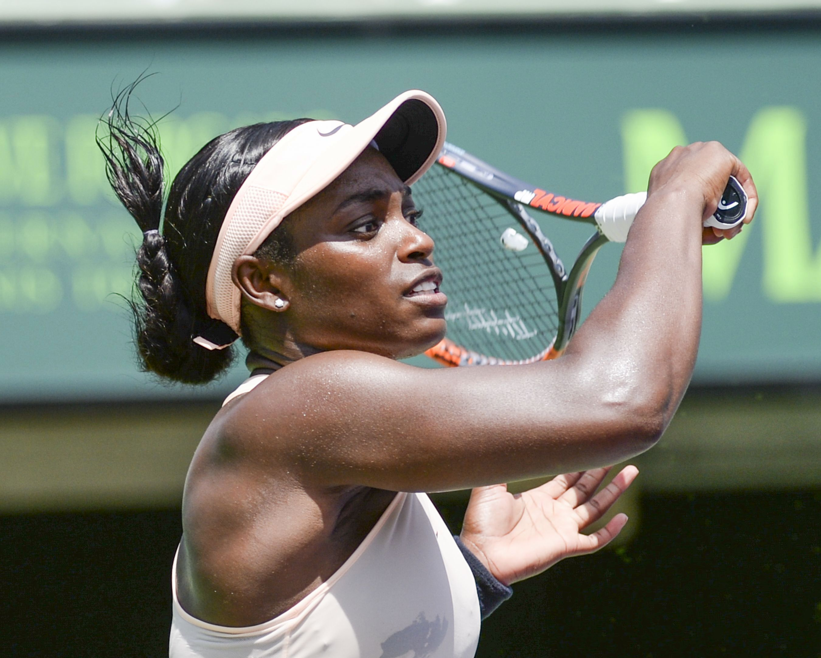 5 choses savoir sur sloane stephens titr e miami wta tennis. Black Bedroom Furniture Sets. Home Design Ideas