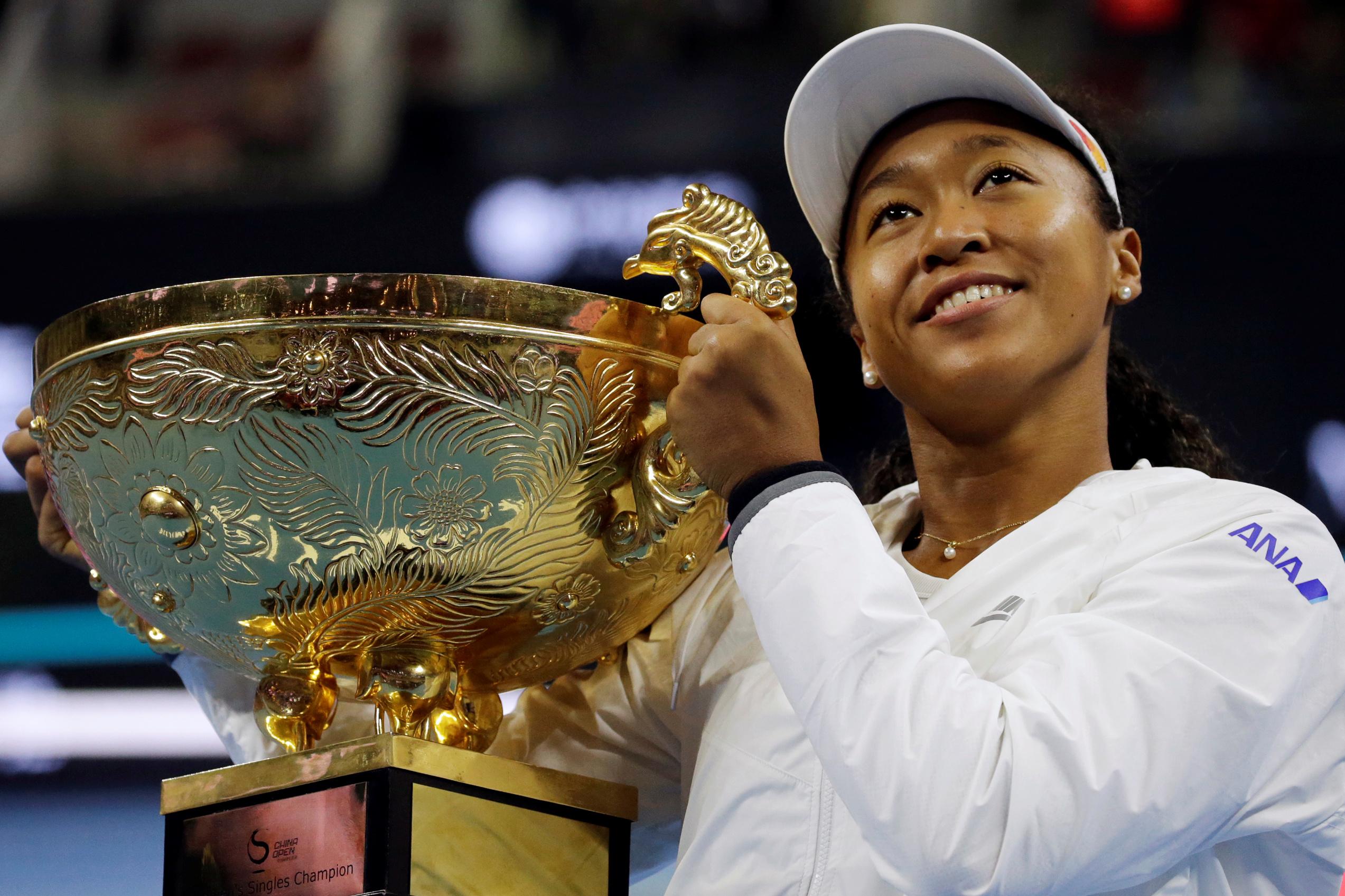Tennis - WTA - Aux bords des larmes pendant le match, Osaka titrée à Pékin
