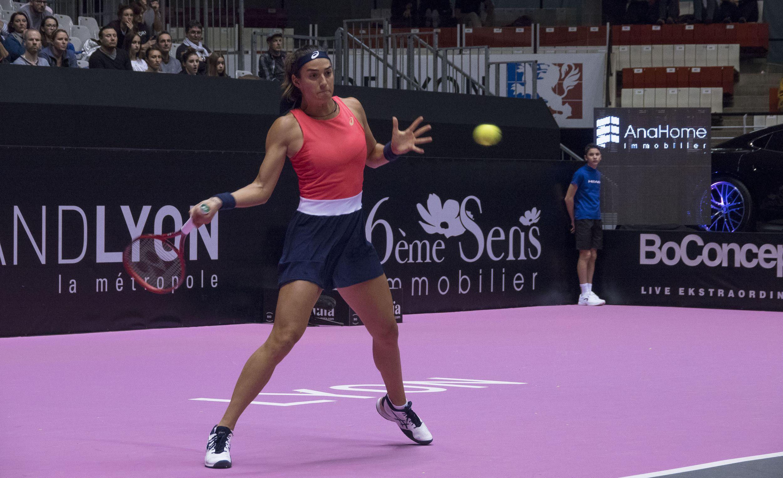 Tennis - WTA - Caroline Garcia prend sèchement la porte chez elle