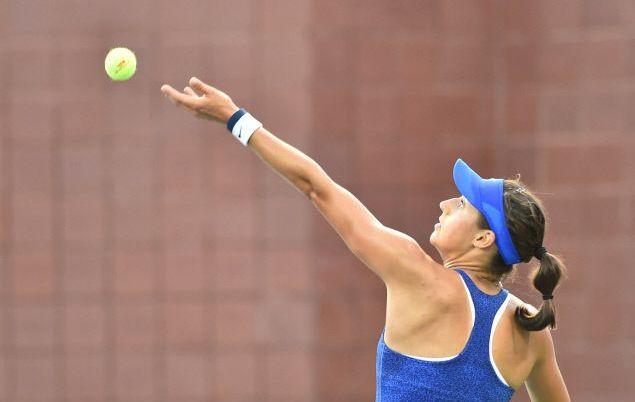 Tennis : WTA - </b>Garcia encha&#238;ne