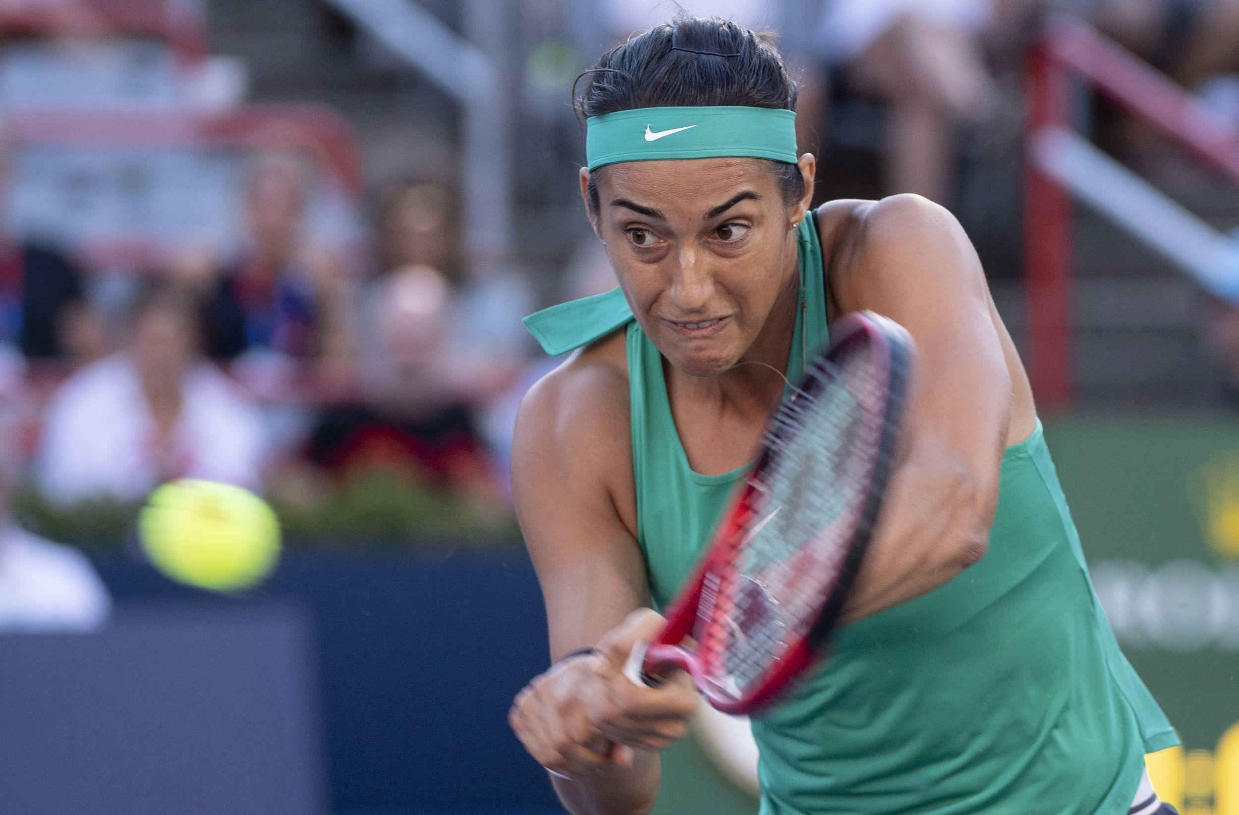 Tennis - WTA - Garcia : «Je me sens bien, mais ce n'est pas par rapport à mon classement»