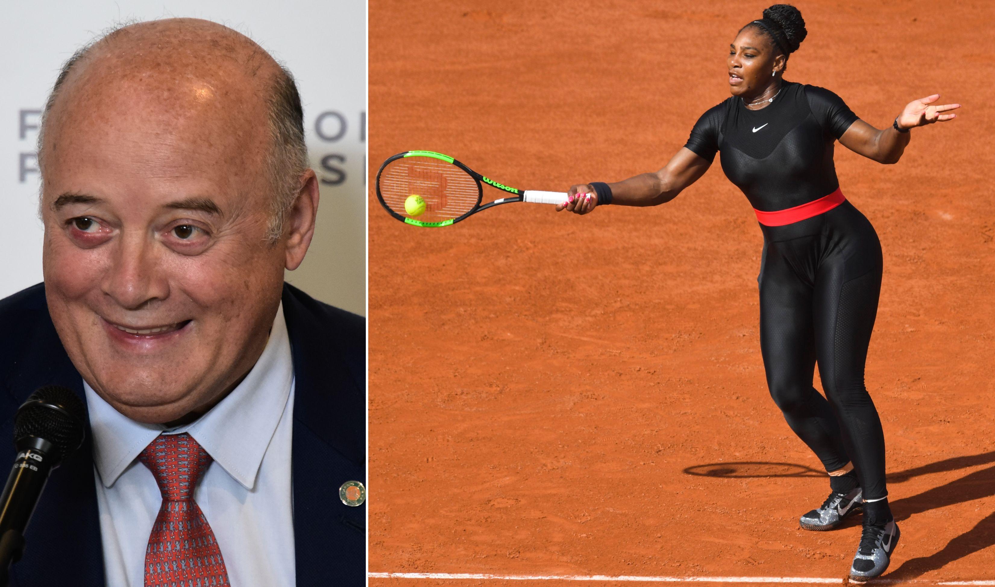 Tennis - WTA - Le président de la FFT «n'acceptera plus» la combinaison de Serena Williams à Roland-Garros