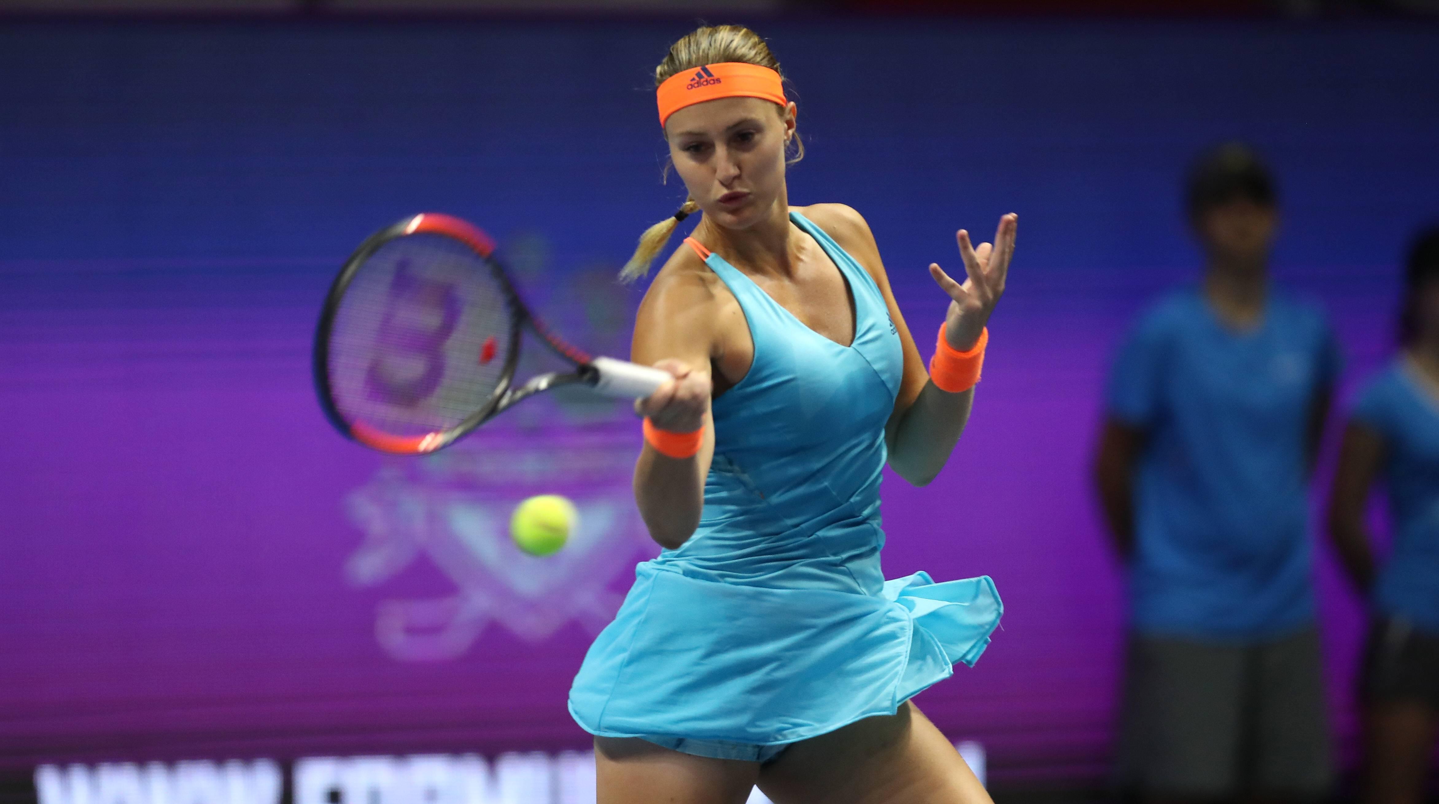 La francesa Kristina Mladenovic logra su primer titulo WTA en San Petersburgo al vencer la final en 3 sets a la kazaja Yulia Putintseva.