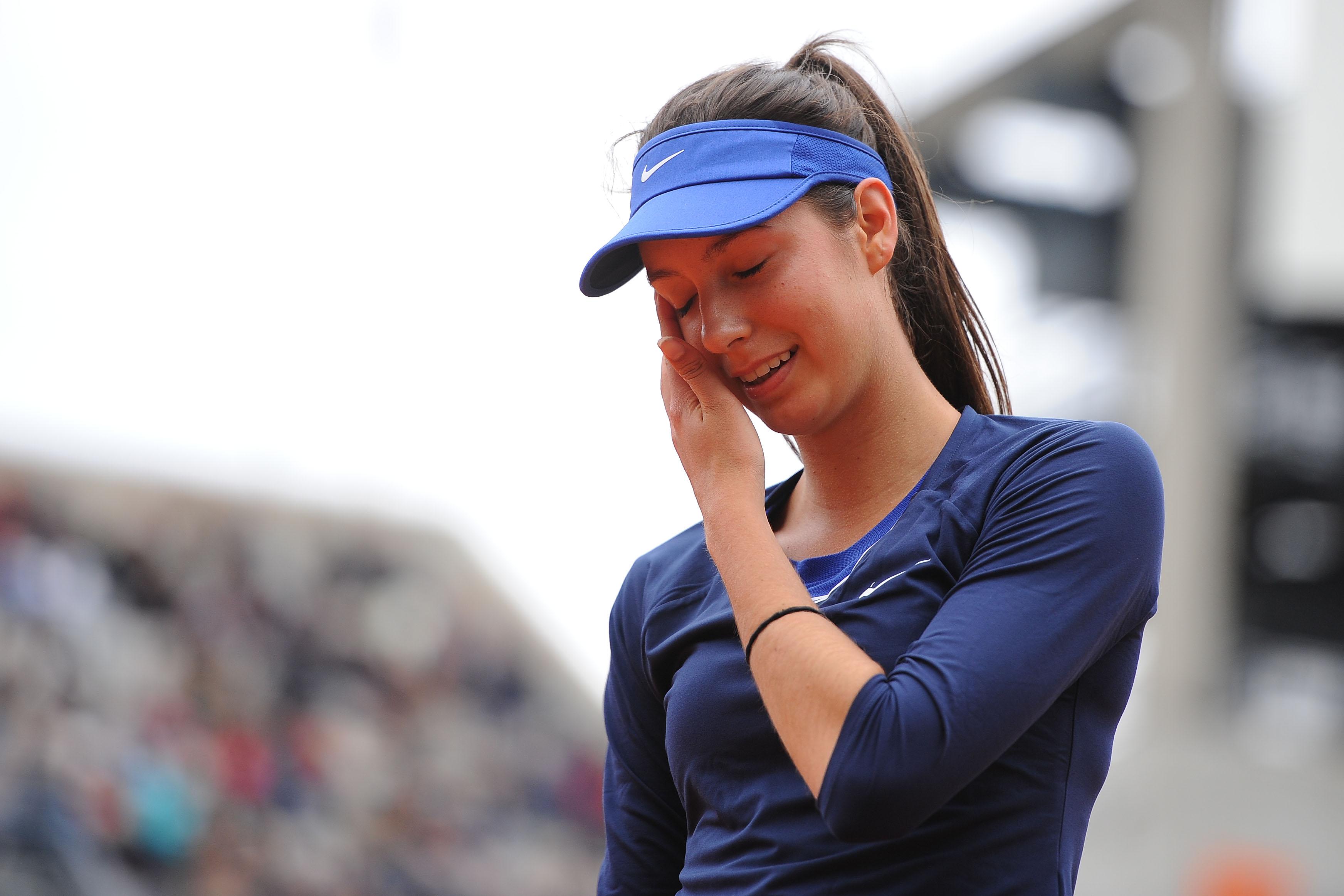 Tennis : WTA - </b>Oc&#233;ane Dodin s?offre son premier titre WTA