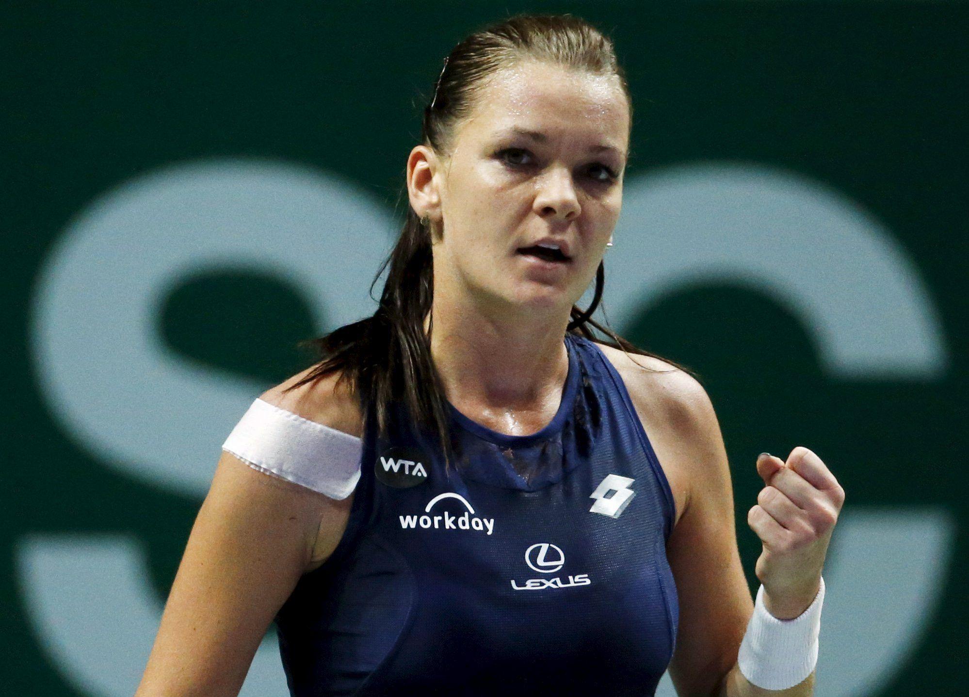 Tennis : WTA - </b>Radwanska s?offre le plus beau titre de sa carri&#232;re