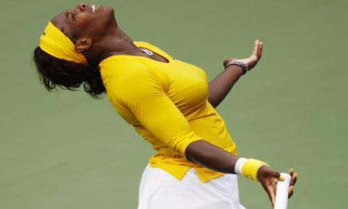 Serena tombe sur un os - WTA - Tennis -