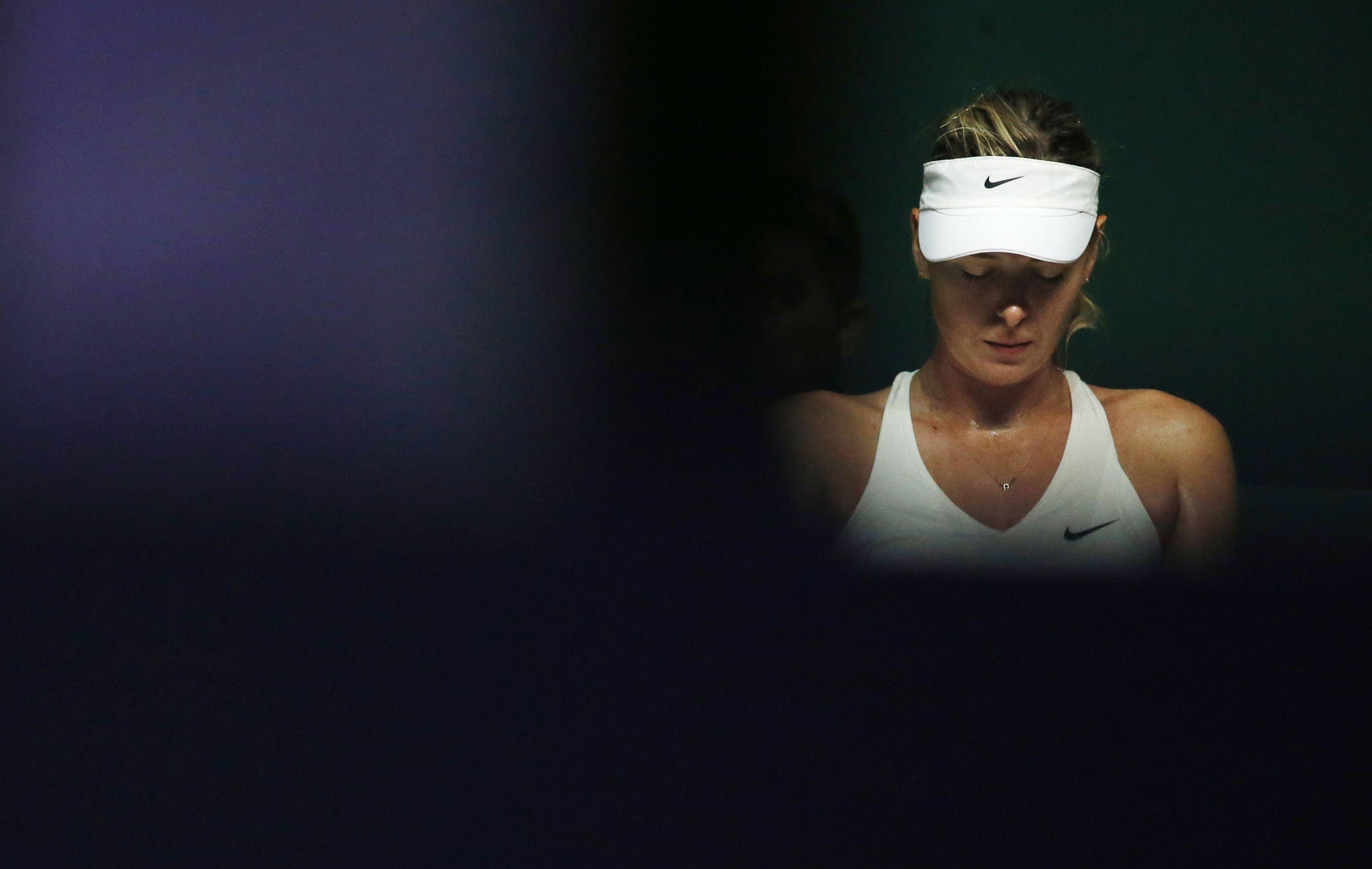 Tennis : WTA - Sharapova, �a commence mal