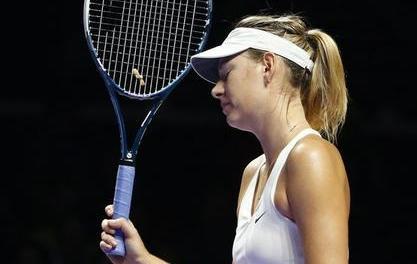 Tennis : WTA - Sharapova chute encore, Wozniacki y est presque