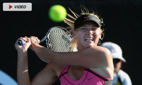 Sharapova file en 8èmes - WTA - Tennis -