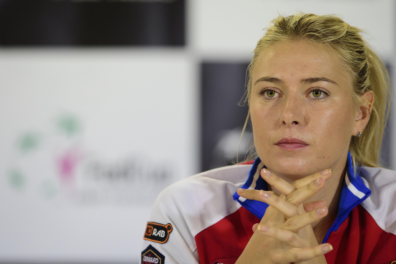 Tennis : WTA - Sharapova : «Je compte les jours jusqu'à mon retour sur les courts»