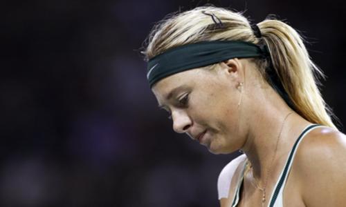 Sharapova s'arrête là - WTA - Tennis -