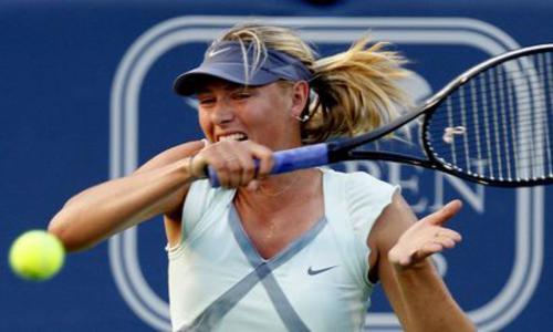 Sharapova stoppe Kuznetsova - WTA - Tennis -