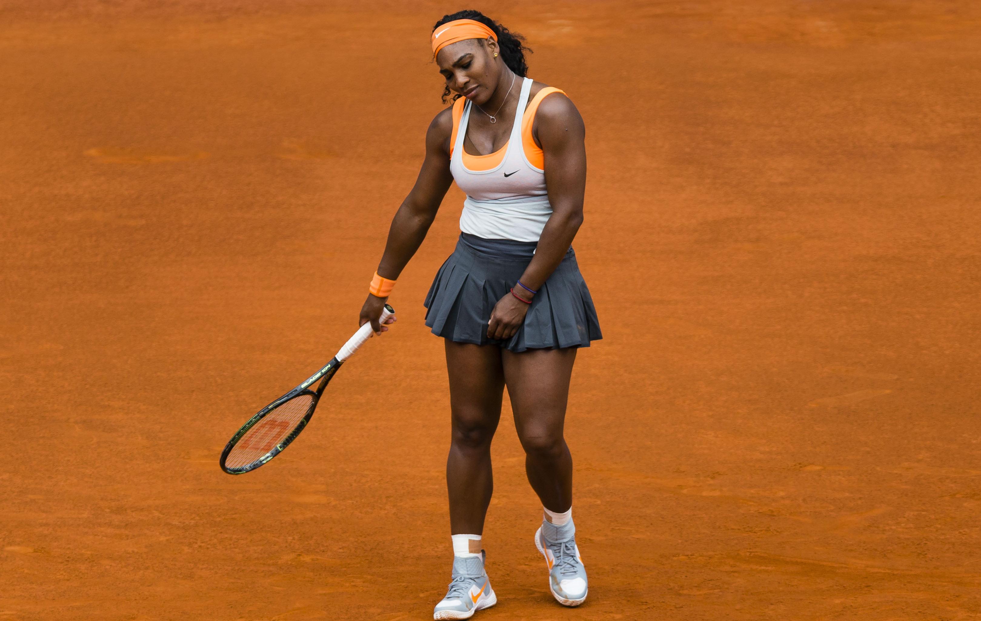 Tennis : WTA - </b>Sharapova-Williams, deux de chute