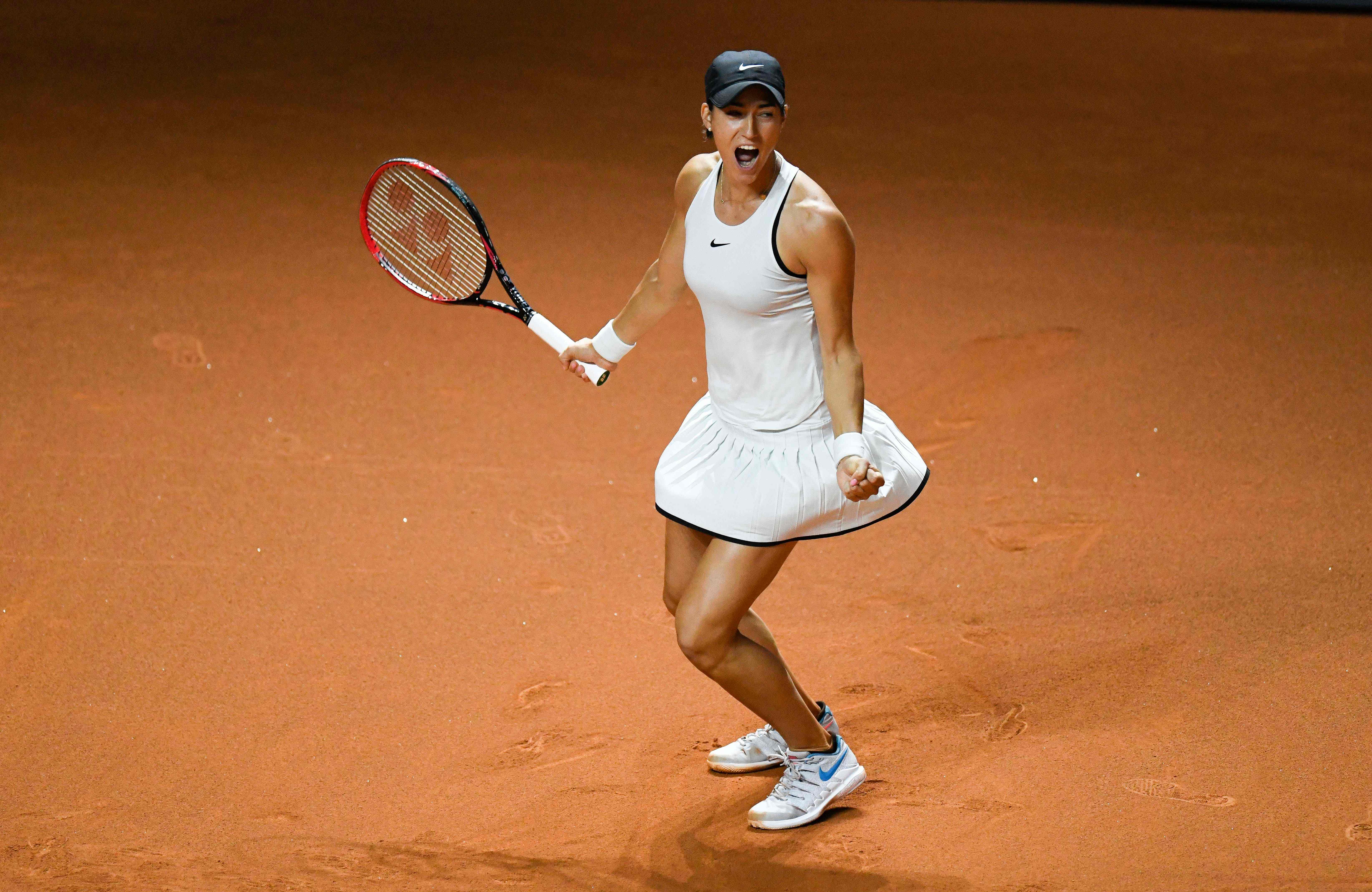 Tennis - WTA - Stuttgart : Pour la première fois, Garcia se sort des griffes de Sharapova
