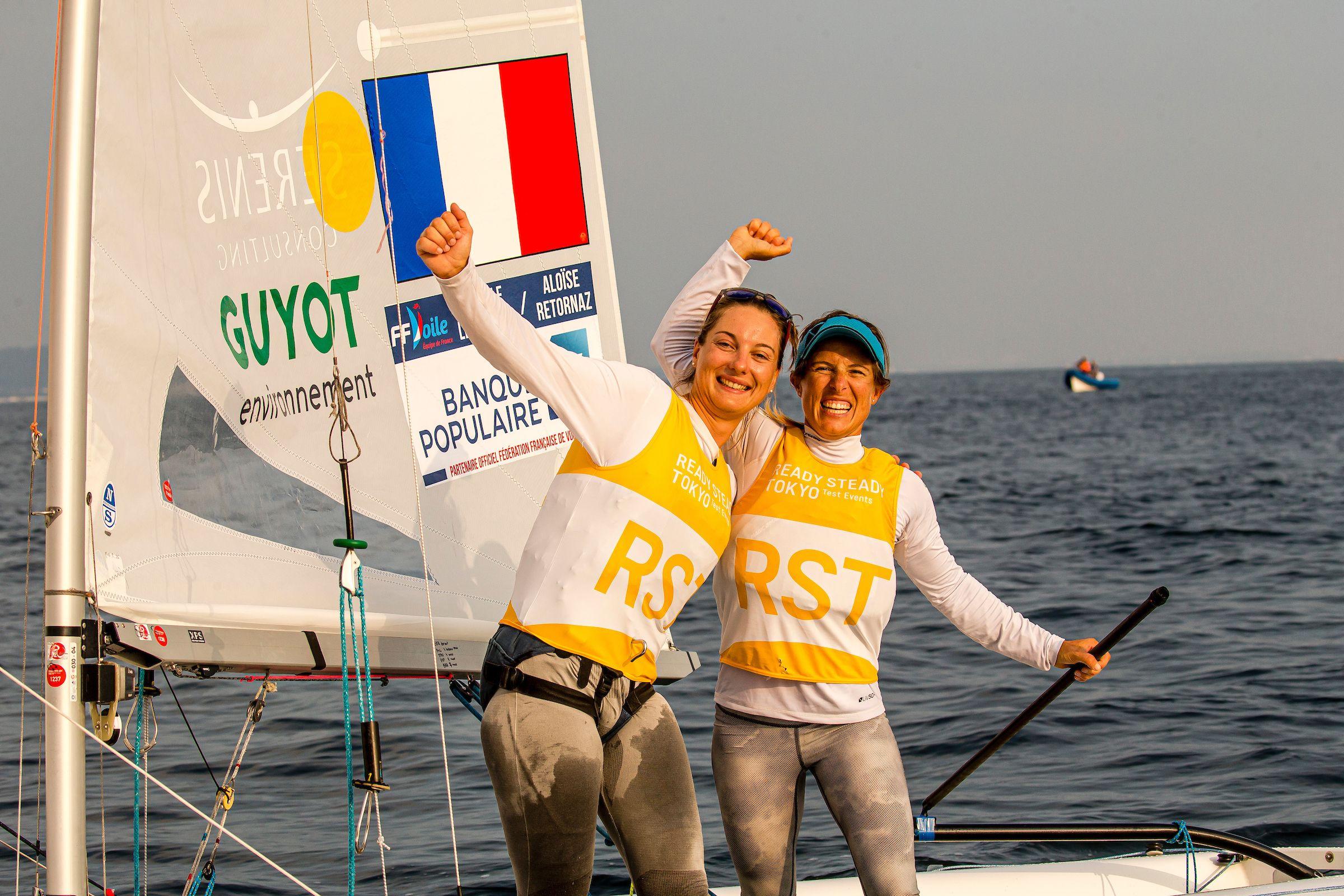 Voile - Camille Lecointre et Aloise Retornaz élues «Marins de l'année»