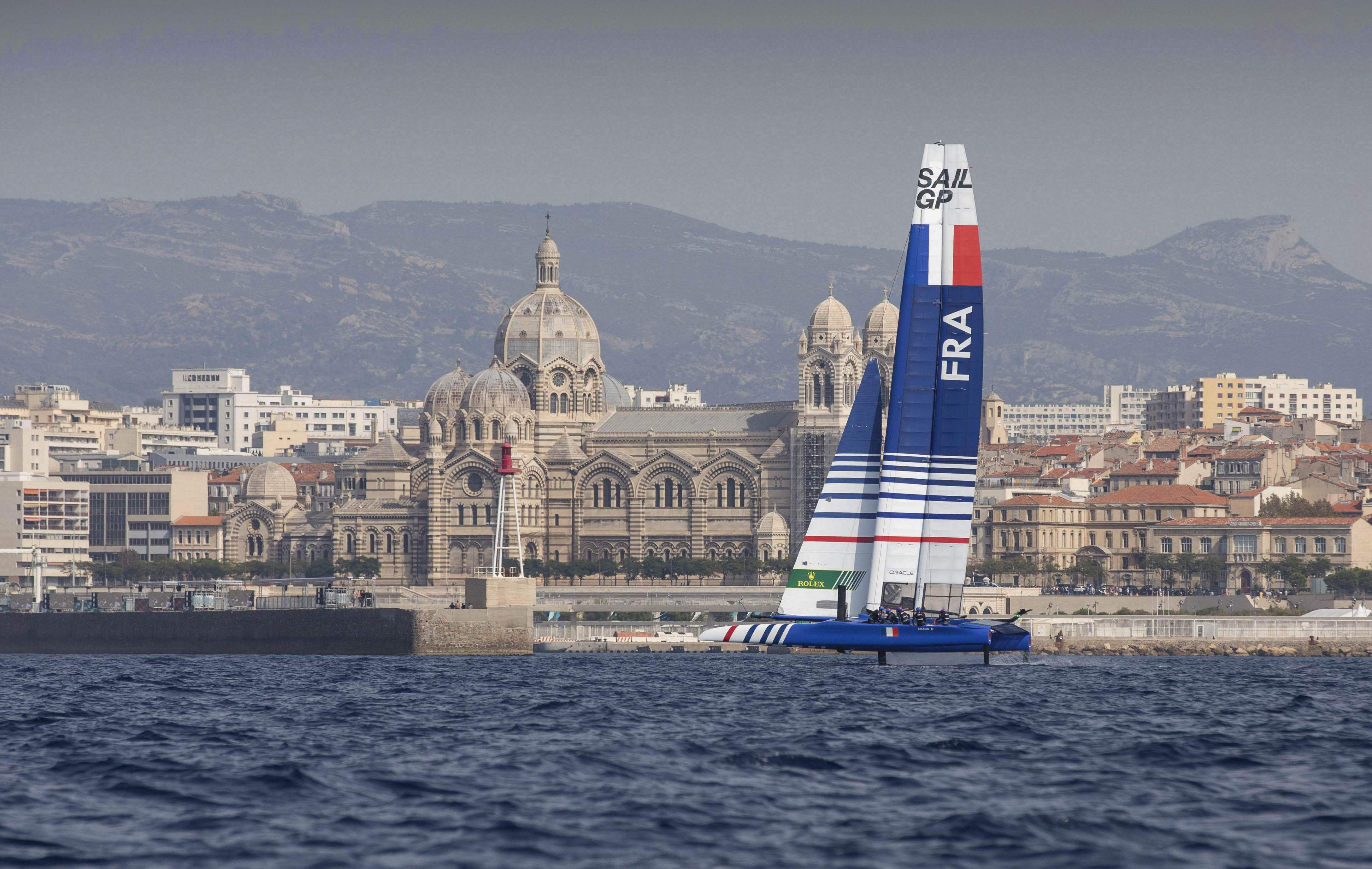 Voile - Les F1 des mers s'envolent à Marseille