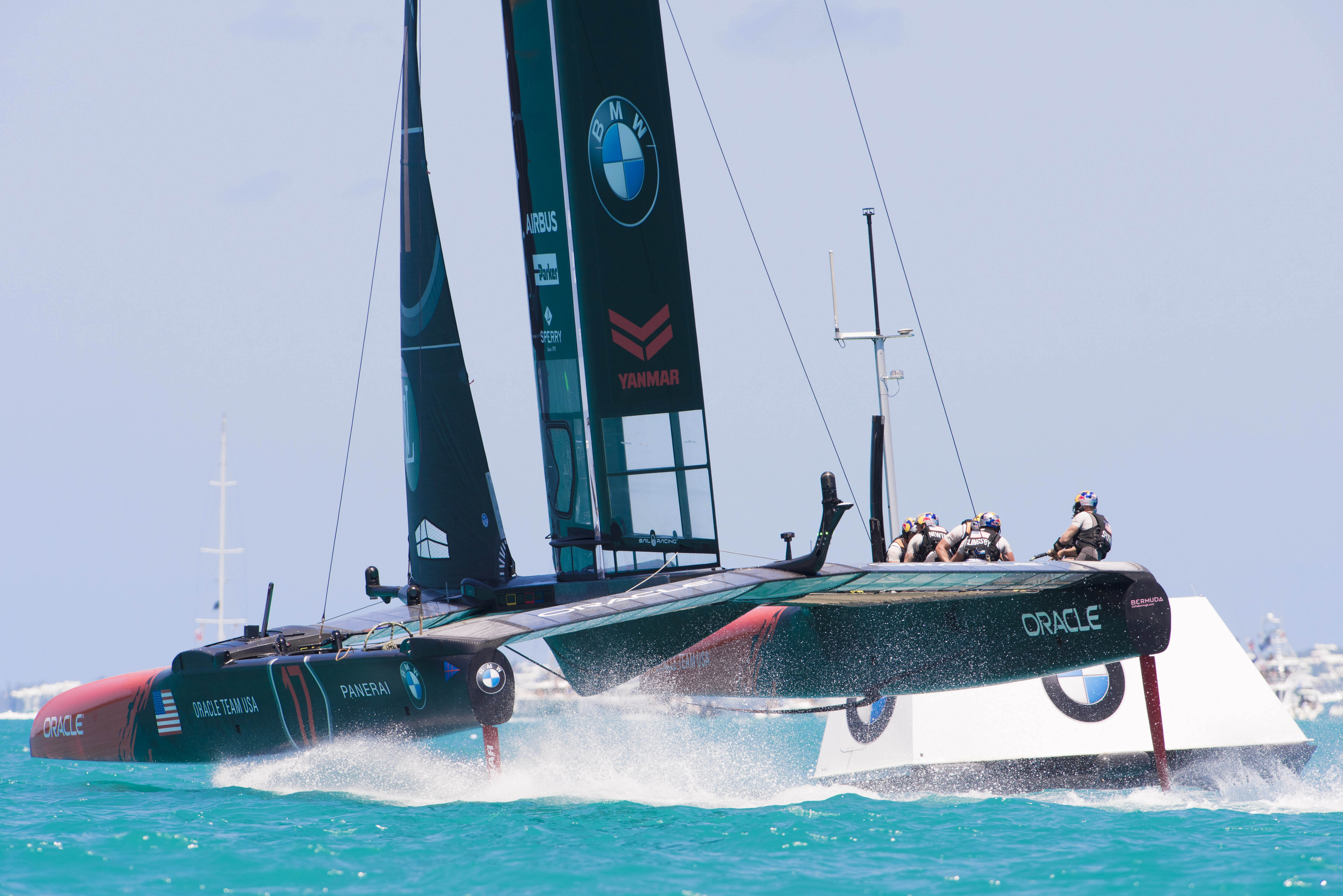 Voile - Coupe de l'America - Comment l'analyse de données rend Oracle Team plus performant