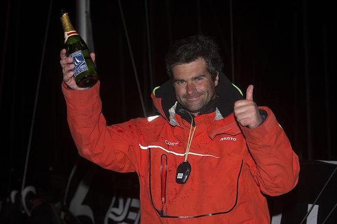 Voile - La Solitaire - Alexis Loison, premier vainqueur (à suspense) de la saison figariste