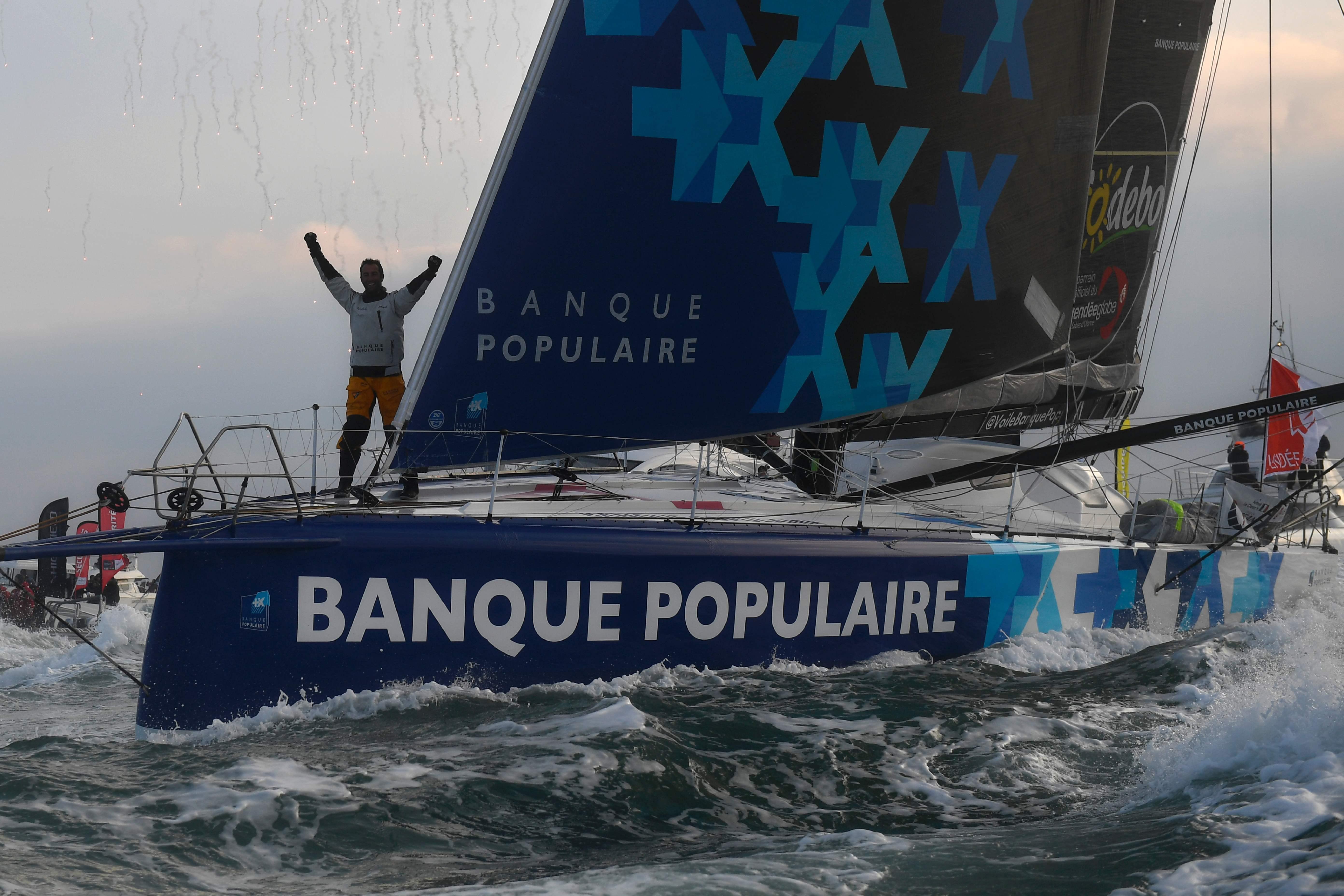 Voile - Vendée Globe - Banque populaire, le sponsor qui rafle tout