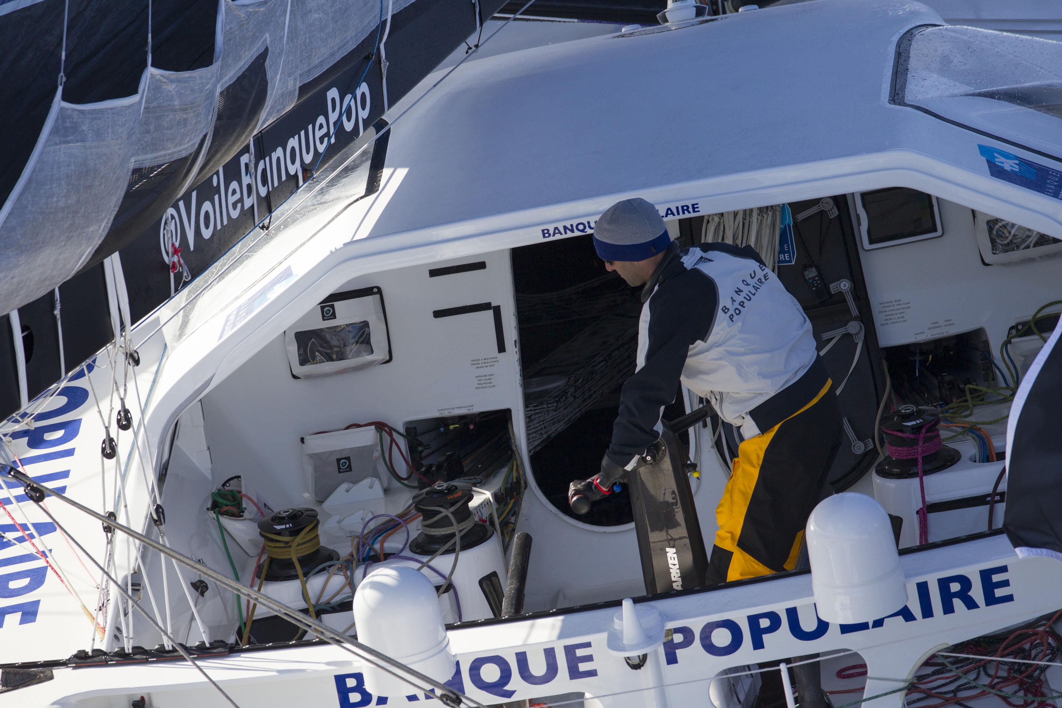 Voile - Vendée Globe - Le Cléac'h et Thomson dans un mouchoir de poche