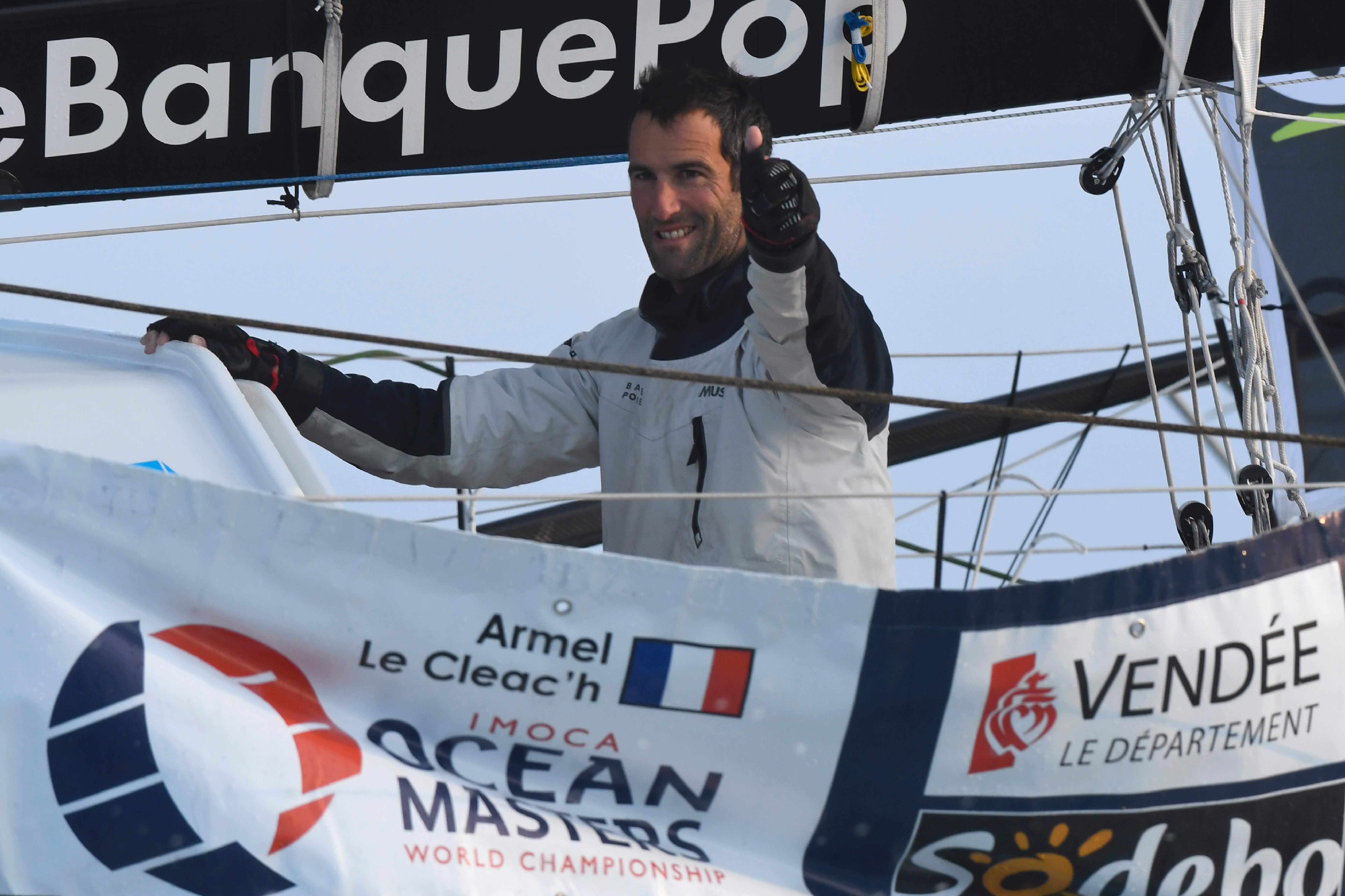 Voile - Vendée Globe - Le Cléac'h, magistral vainqueur d'un Vendée Globe record