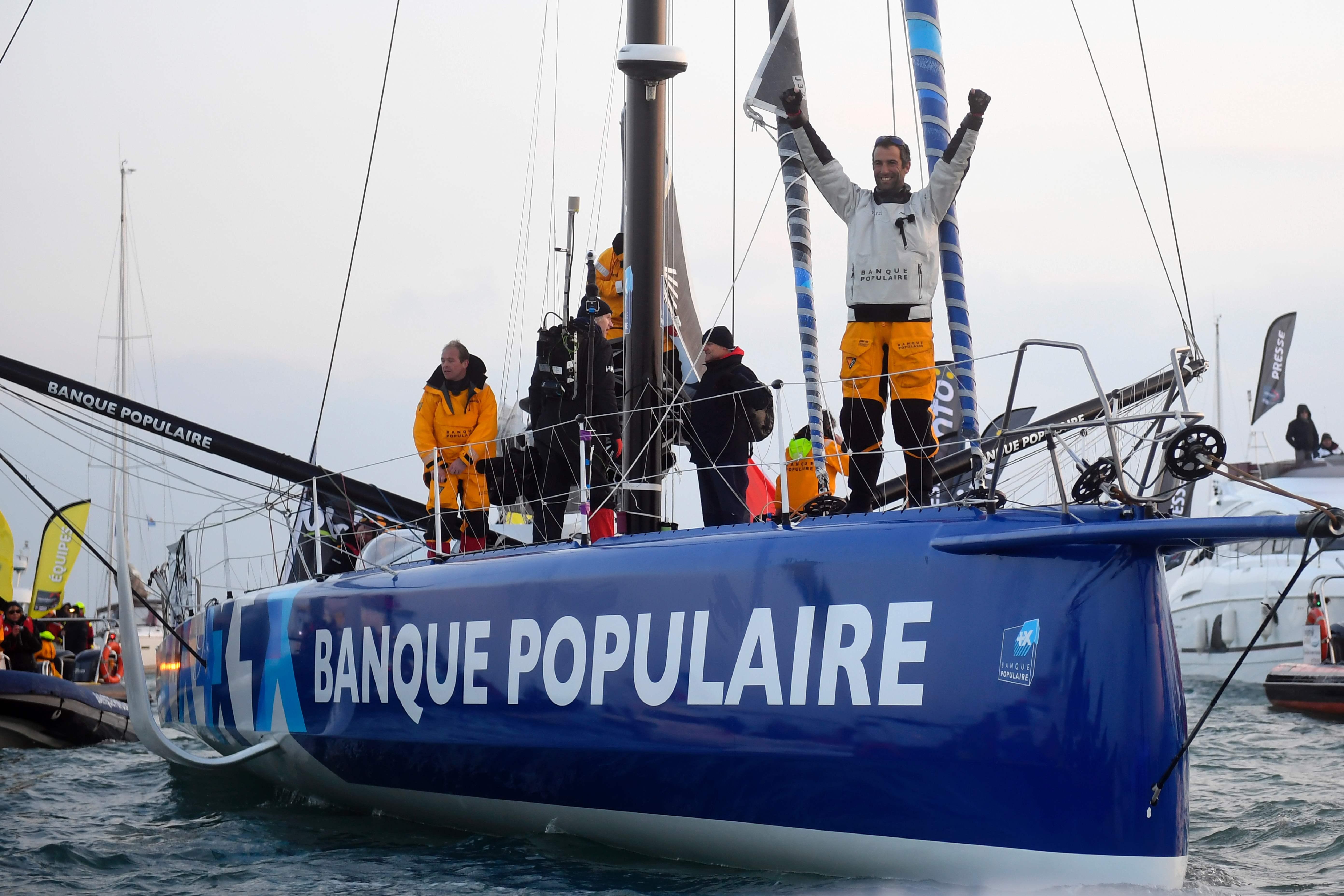 Voile - Vendée Globe - Vendée Globe: que va devenir le bateau d'Armel Le Cléac'h ?