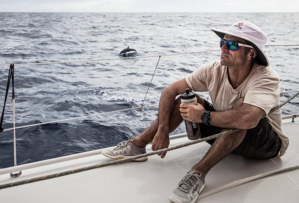 Voile - Volvo Ocean Race - Cammas : «Le Pot au Noir dans une eau à 34 degrés, c'était long»