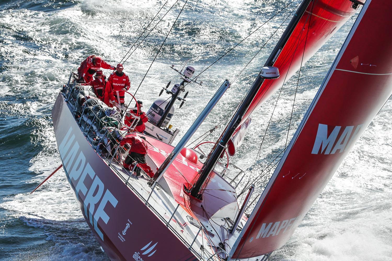 Voile - Volvo Ocean Race - Volvo Ocean Race : Mapfre récidive au Cap, Dongfeng dauphin attendu