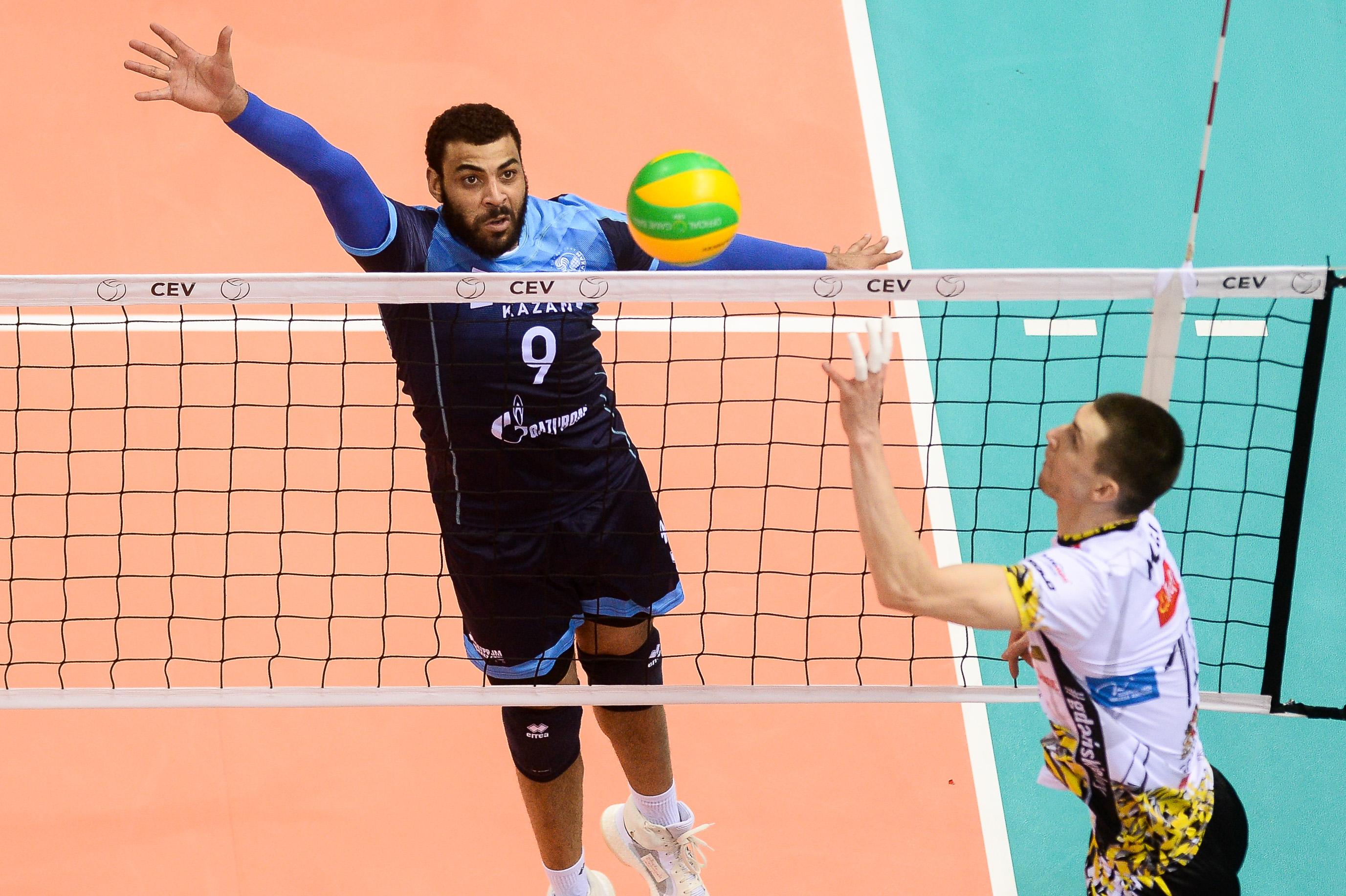 Volley - Ngapeth échoue en finale de la Ligue des champions avec Kazan