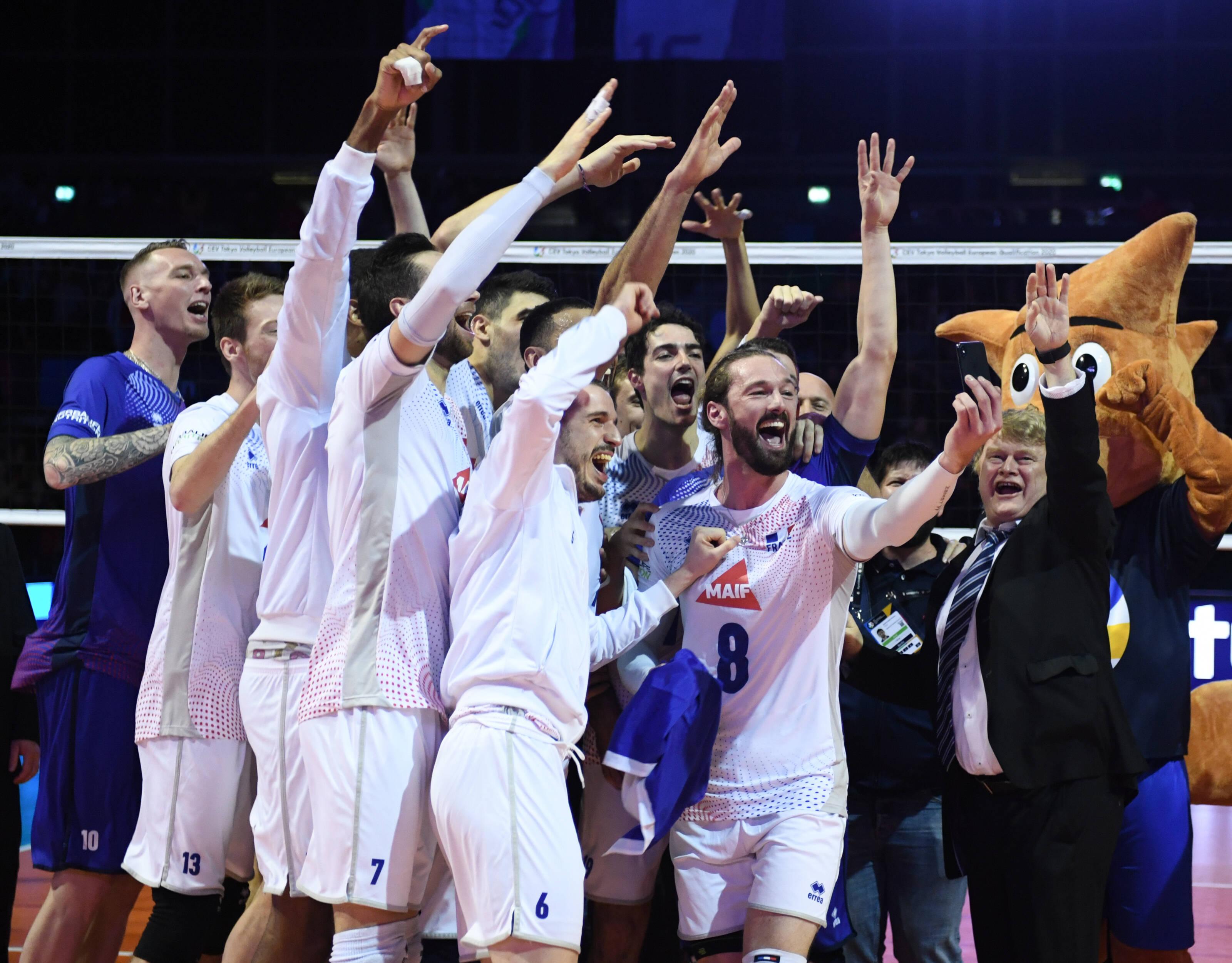 Volley - Equipe de France - «Guerriers», «miraculeux», «fantastique» : leur billet en poche pour Tokyo, les Bleus jubilent