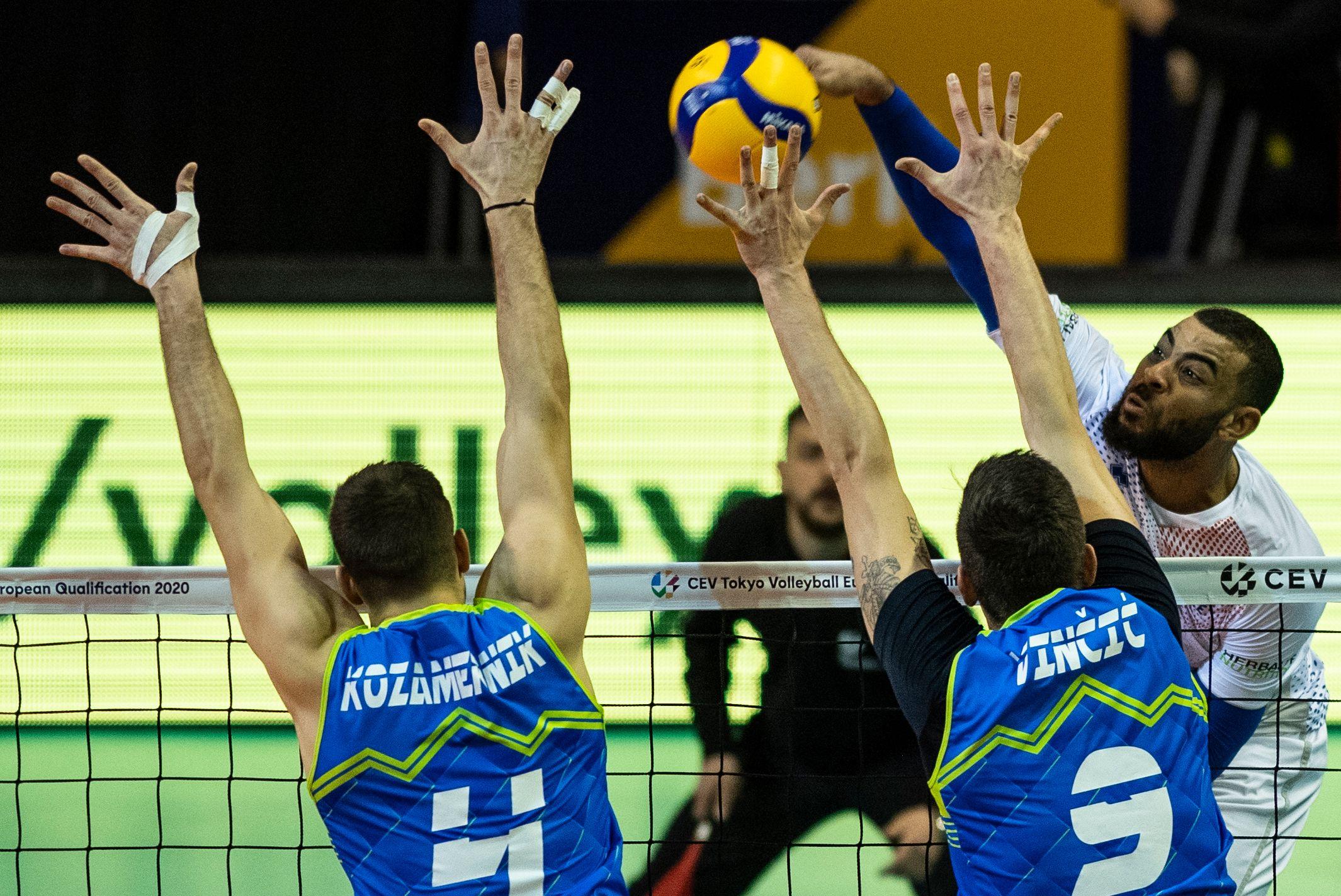 Volley - Equipe de France - Volley: une victoire contre l'Allemagne et les JO pour les Bleus