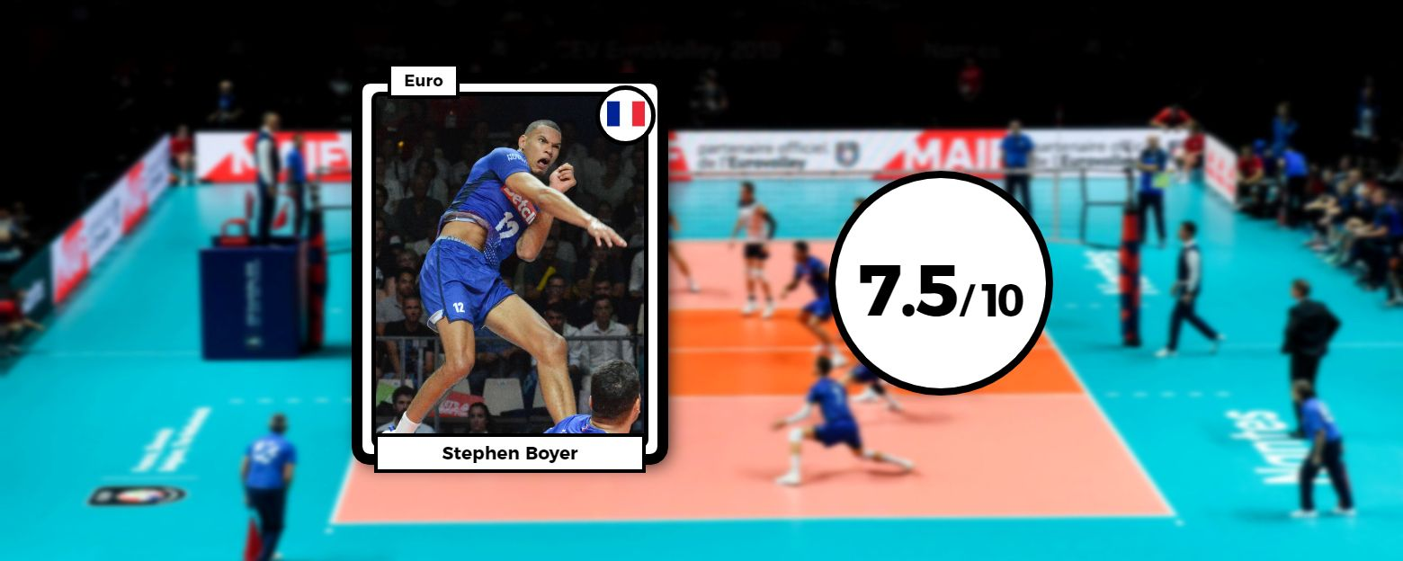 Volley - Equipe de France - Les notes des Bleus : Boyer confirme, Le Roux discret