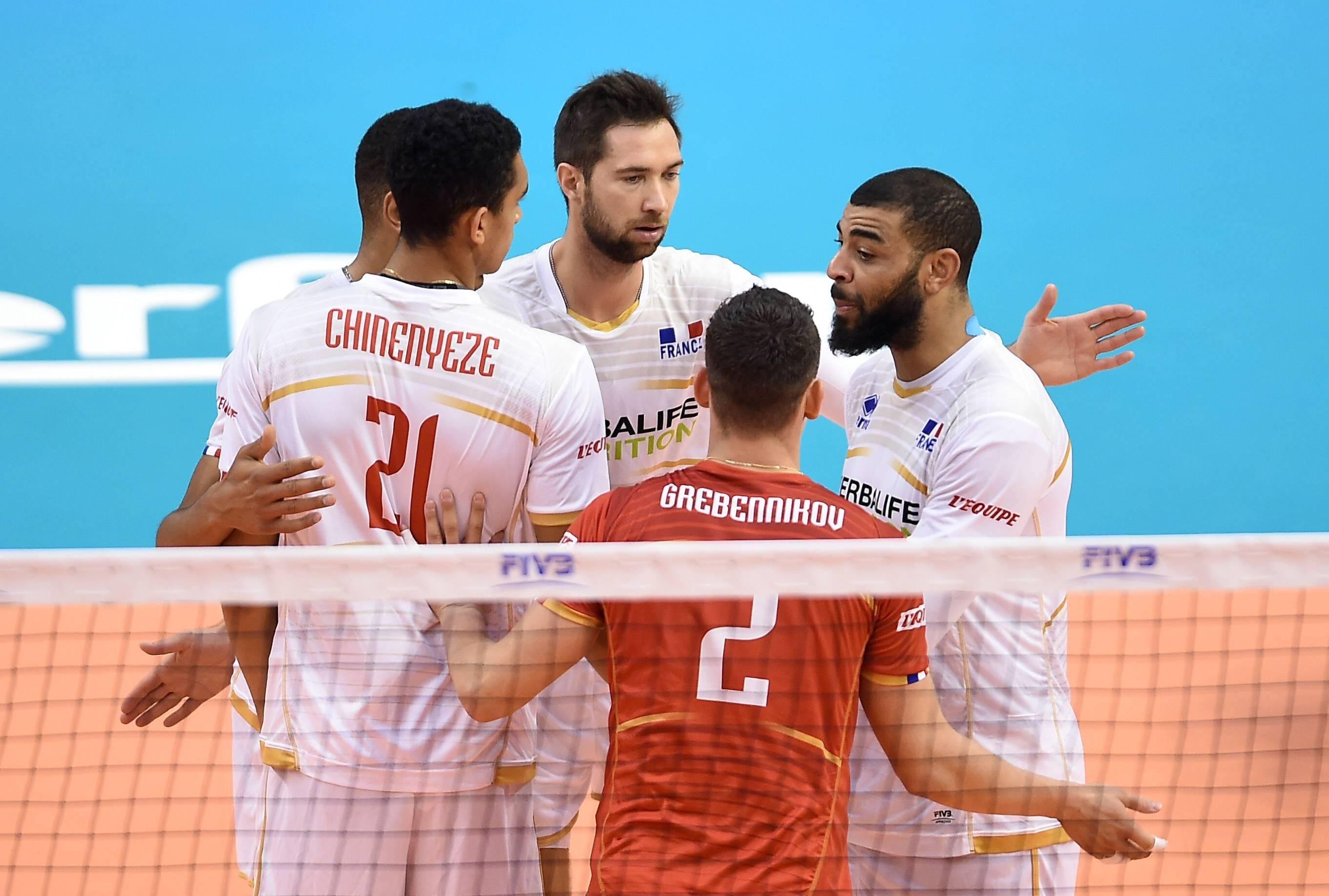 Volley - Equipe de France - Mondial: Ngapeth fait renaître l'espoir des Bleus