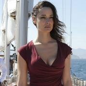 Christophe Beaugrand avec une James Bond girl