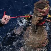 Sous les eaux, la Rome antique