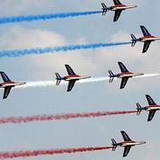 Marie Drucker fête la Patrouille de France