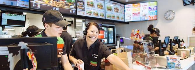 Burger King : faîtes partie de l'aventure